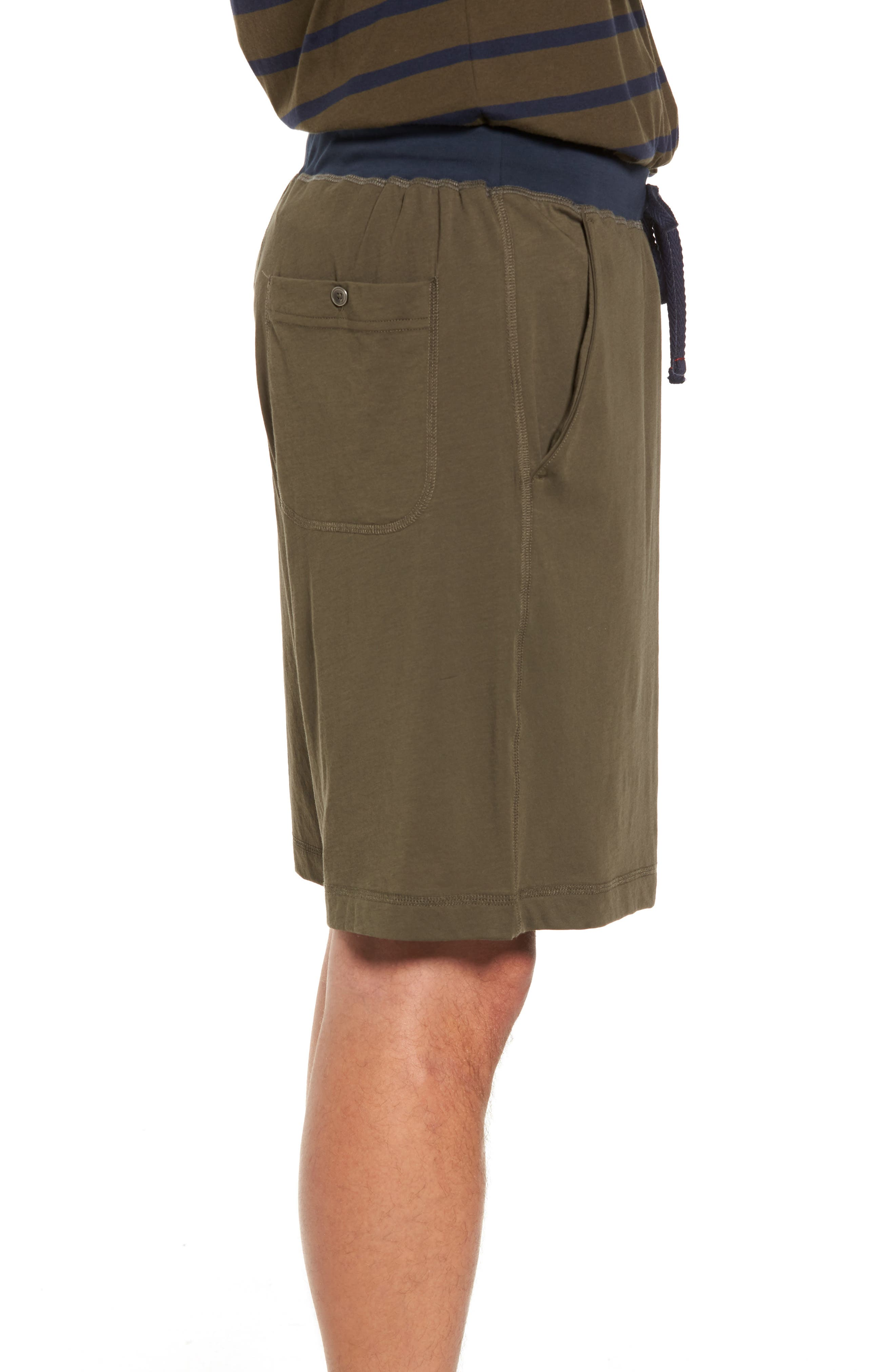 Peruvian Pima Cotton Lounge Shorts,                             Alternate thumbnail 5, color,