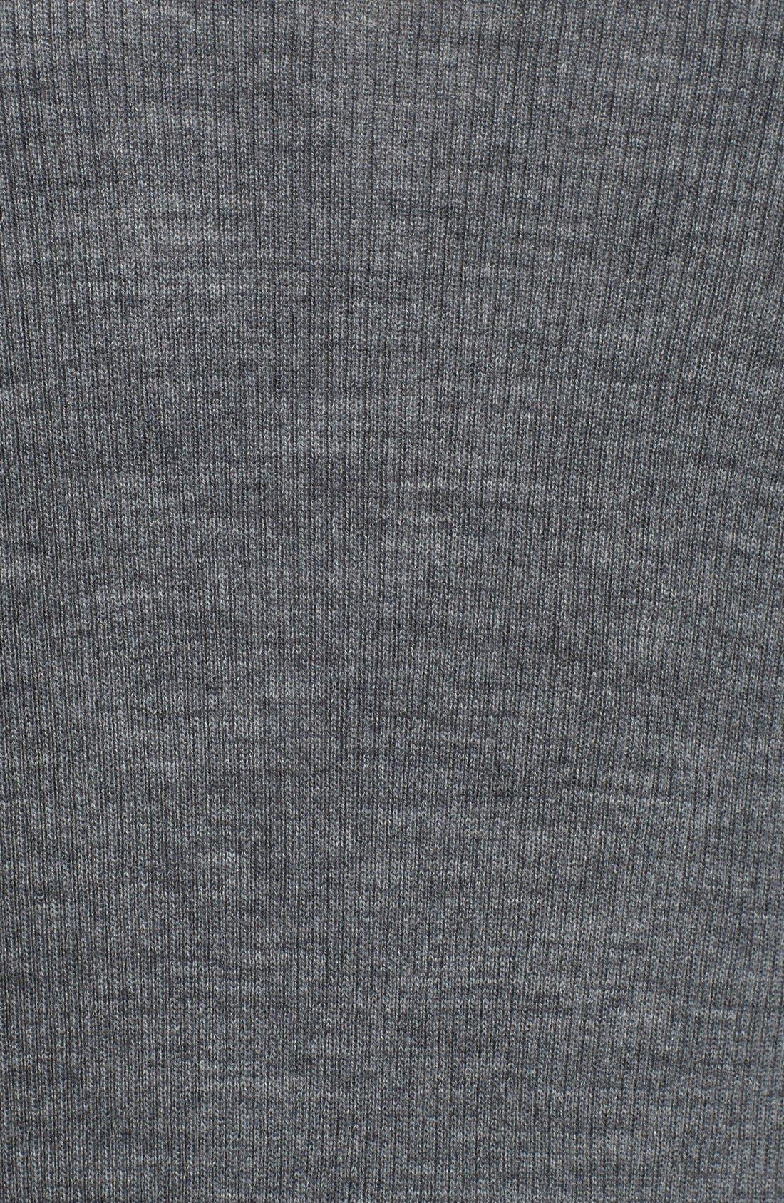 Rib Knit Wool Blend Cardigan,                             Alternate thumbnail 64, color,