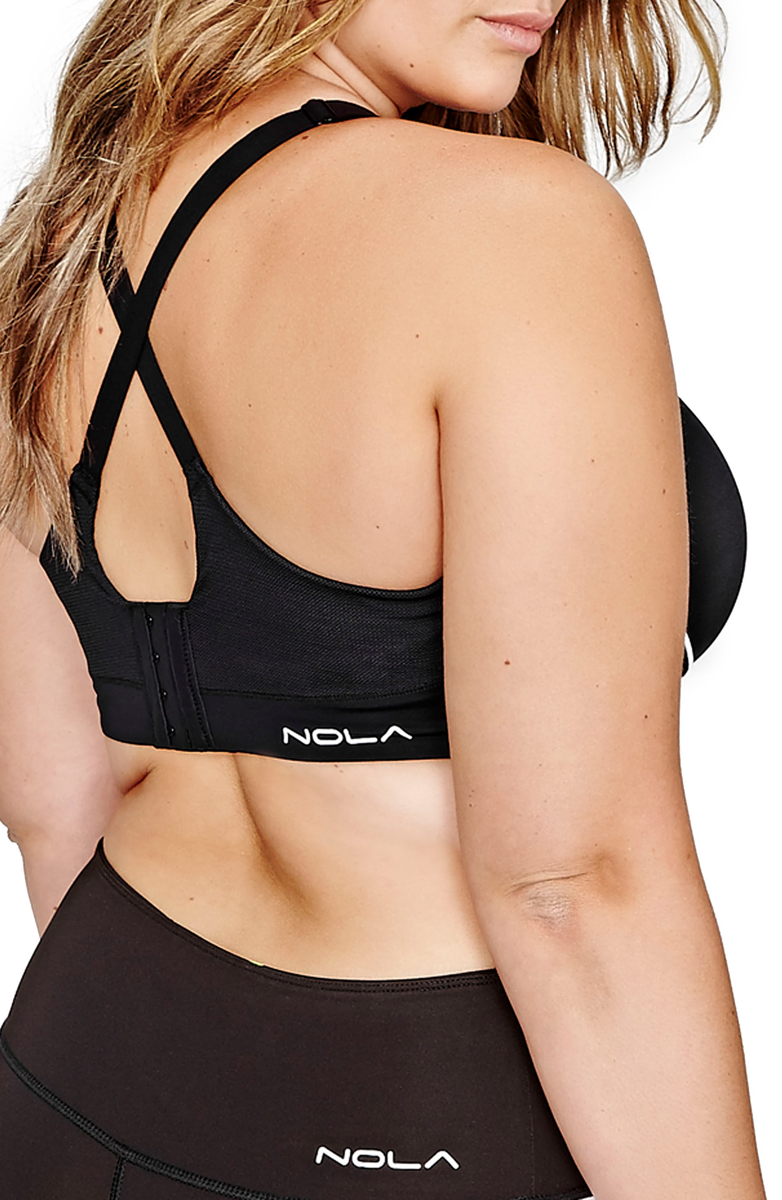 High Impact Underwire Sports Bra,                             Alternate thumbnail 3, color,                             001