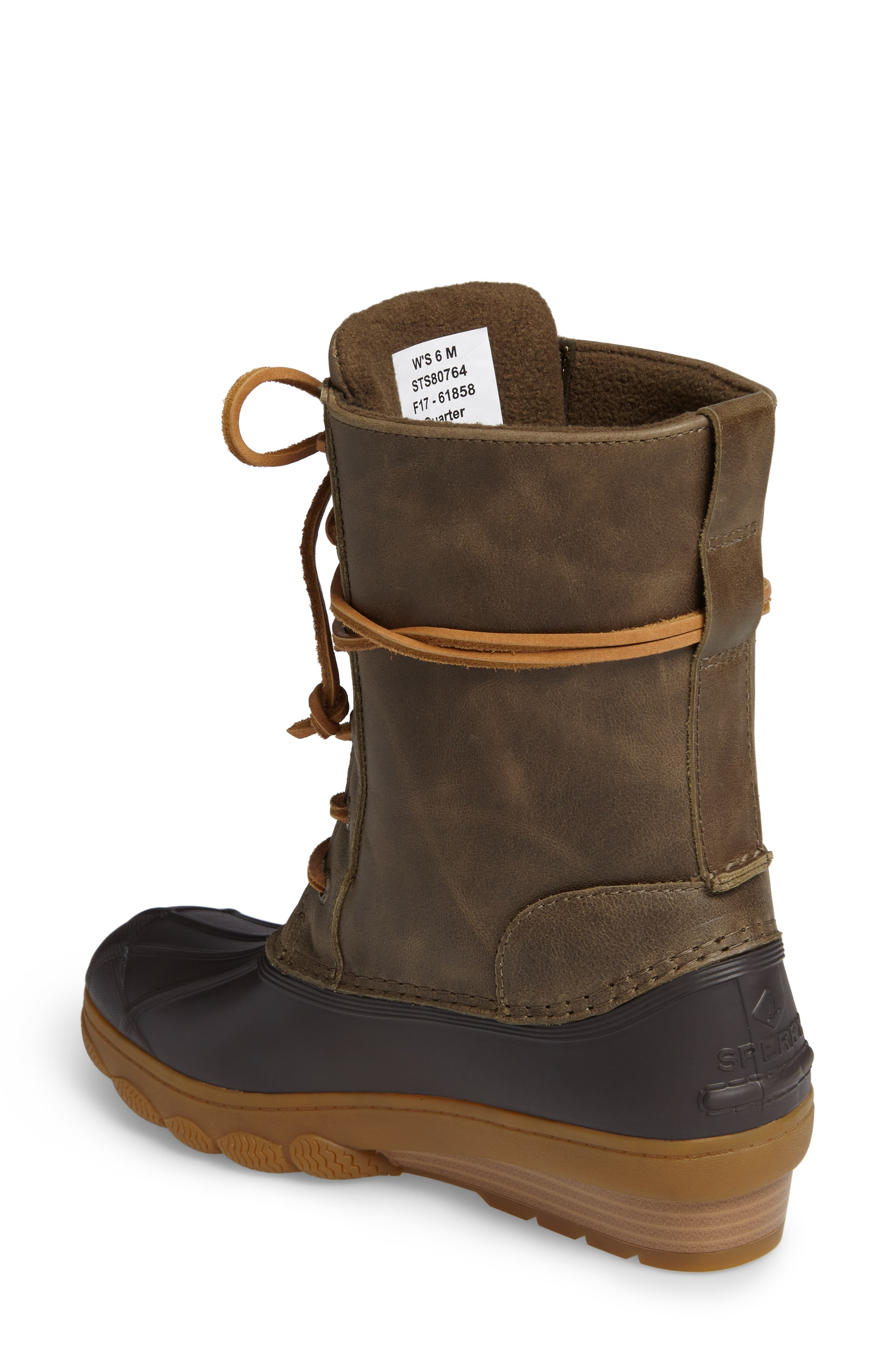 Saltwater Wedge Reeve Waterproof Boot,                             Alternate thumbnail 6, color,