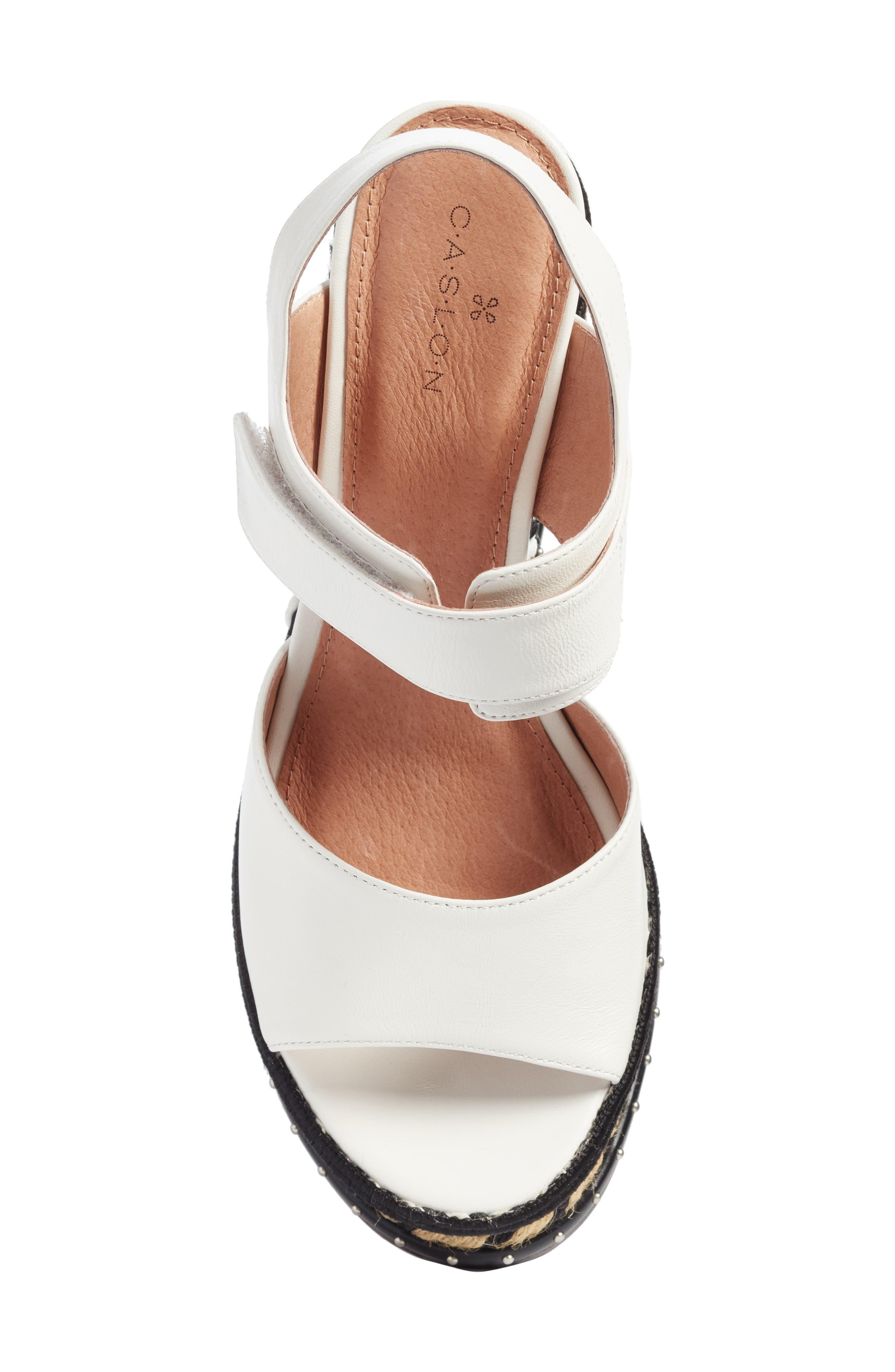 Braxton Platform Wedge Sandal,                             Alternate thumbnail 10, color,