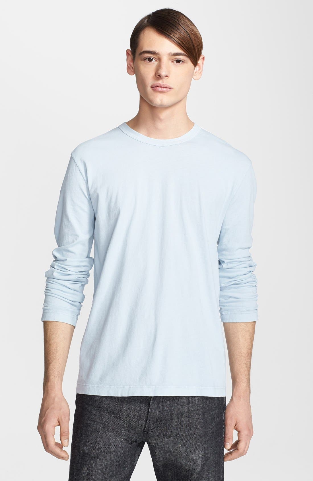 Long Sleeve Crewneck T-Shirt,                             Main thumbnail 9, color,