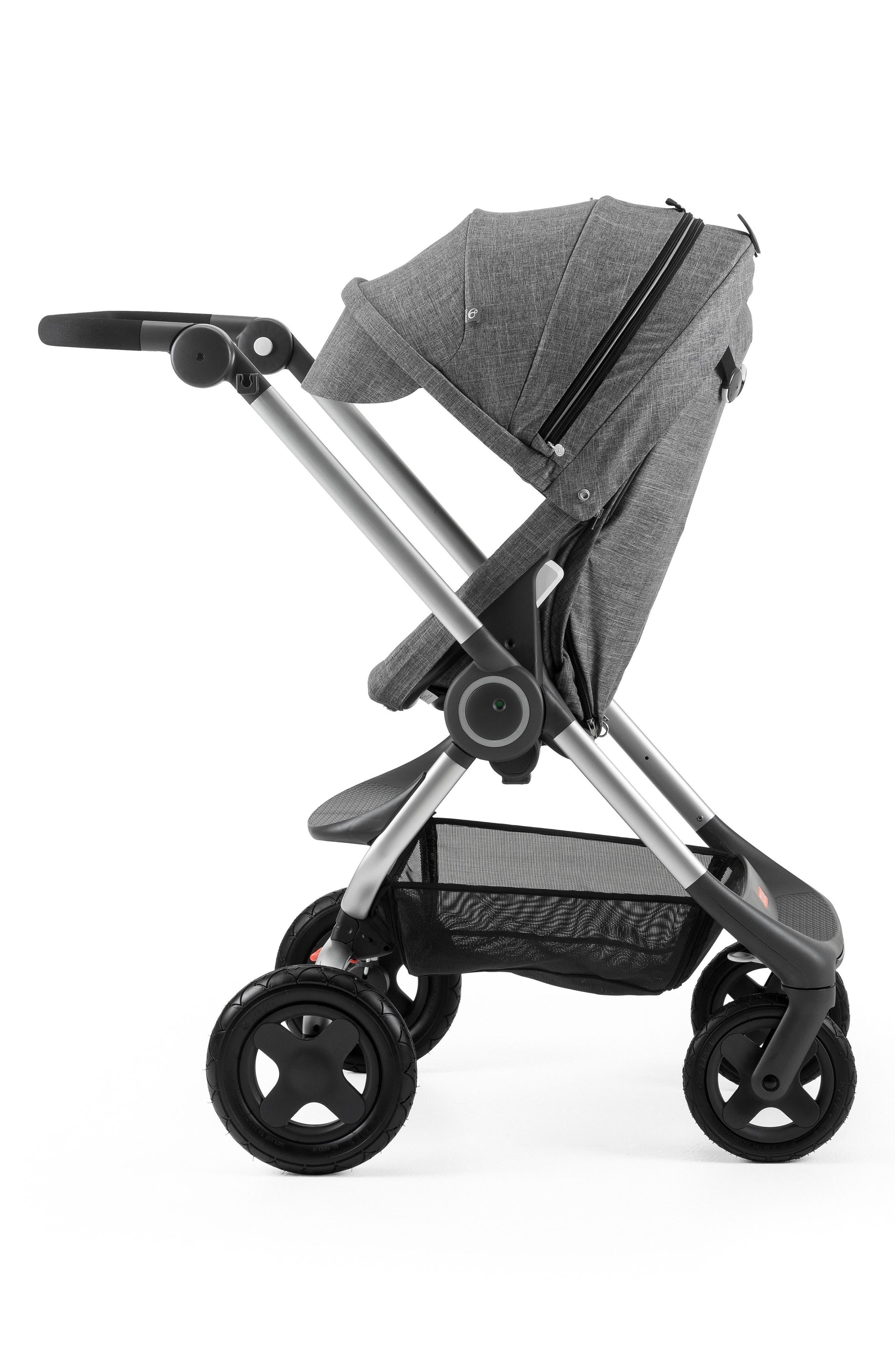 Scoot<sup>™</sup> Complete Stroller,                         Main,                         color, BLACK MELANGE