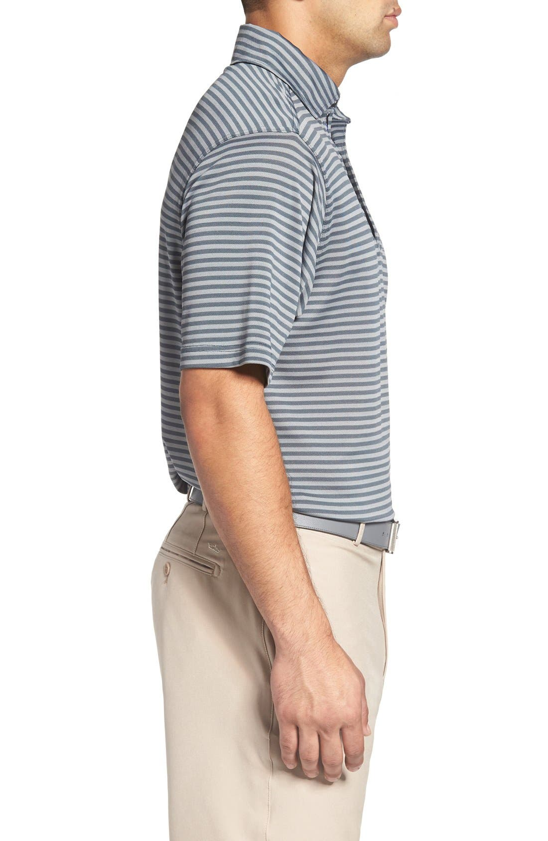 XH2O Feed Stripe Stretch Golf Polo,                             Alternate thumbnail 42, color,
