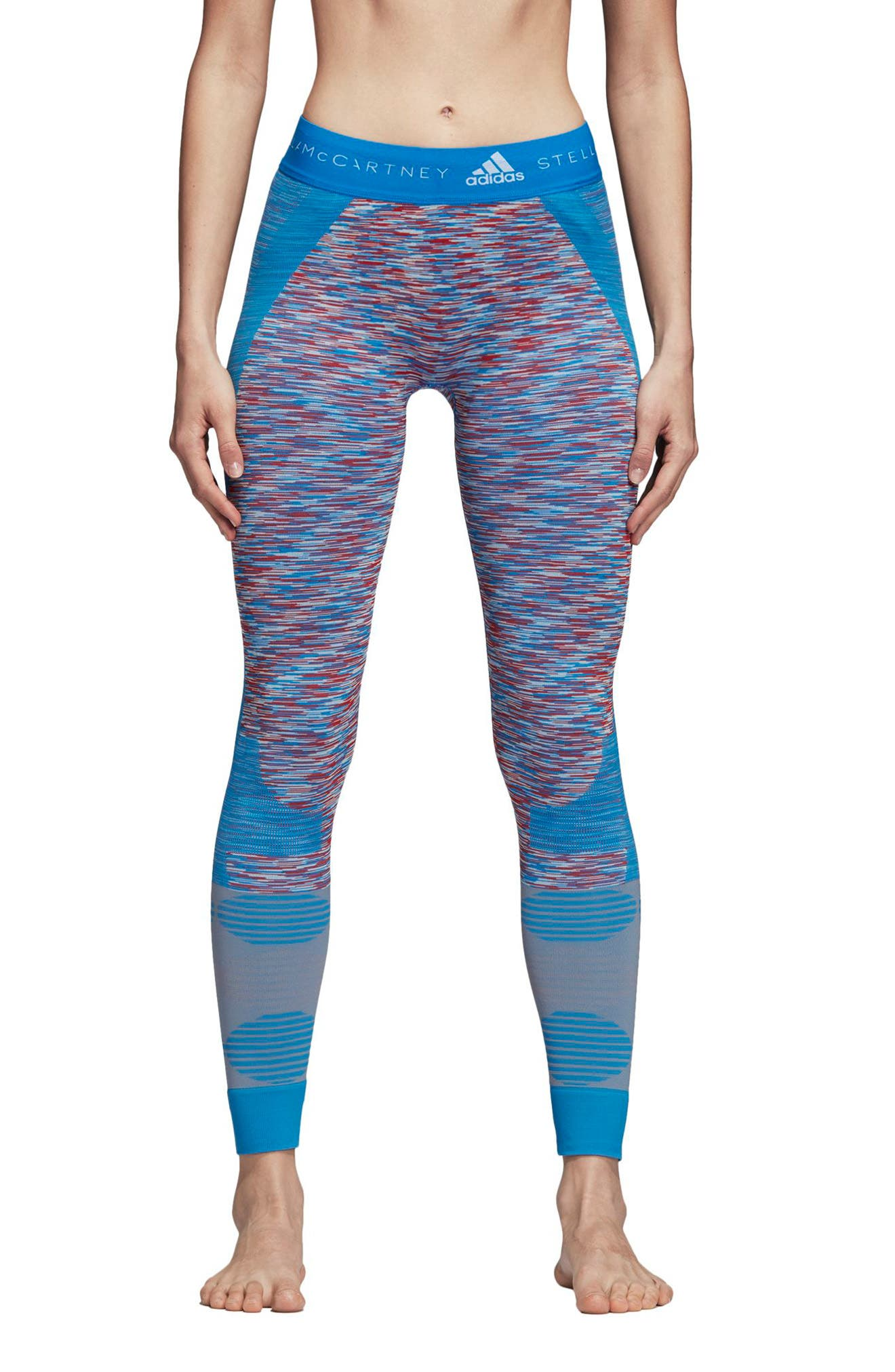 Yoga Seamless Space Dye Leggings,                         Main,                         color, 400