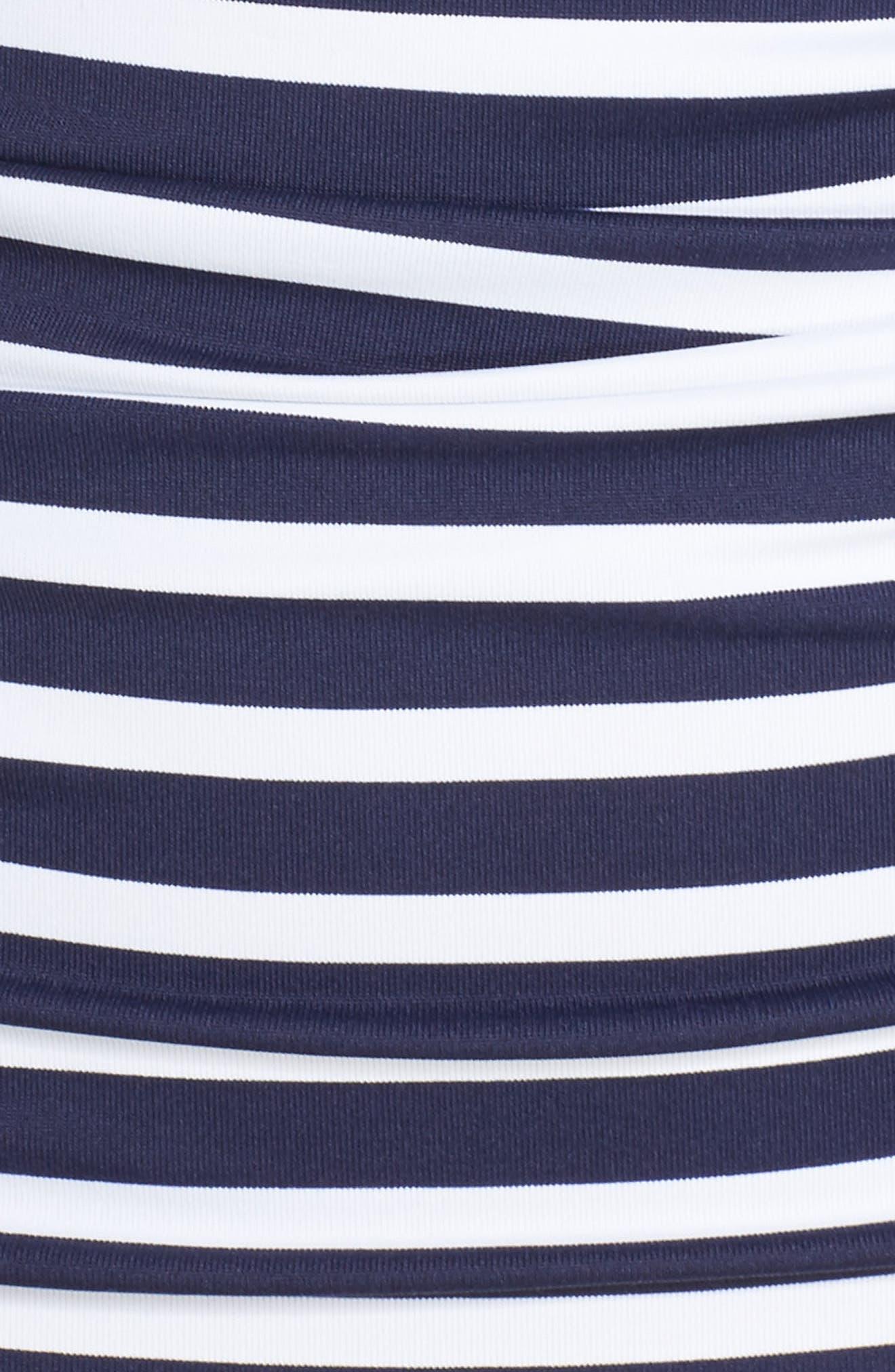 Breton Stripe Tankini Top,                             Alternate thumbnail 5, color,                             400