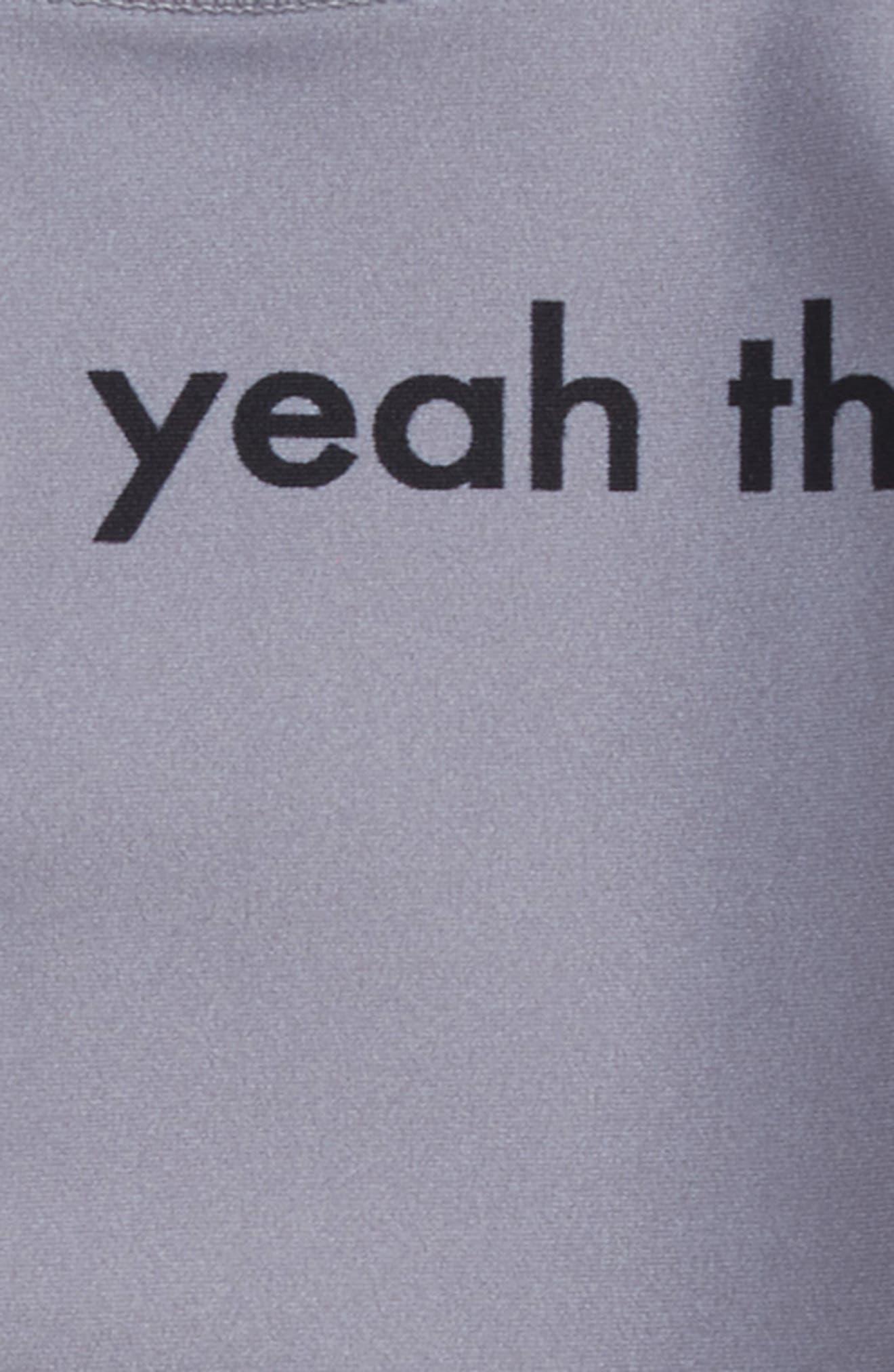 Yeah the Boys Two-Piece Rashguard Swimsuit,                             Alternate thumbnail 2, color,                             035