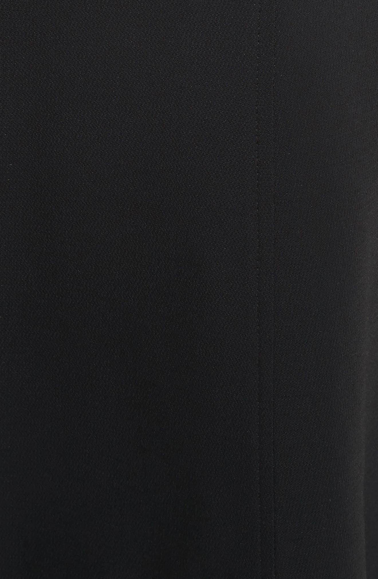 Sander Buckle Strap Midi Dress,                             Alternate thumbnail 9, color,