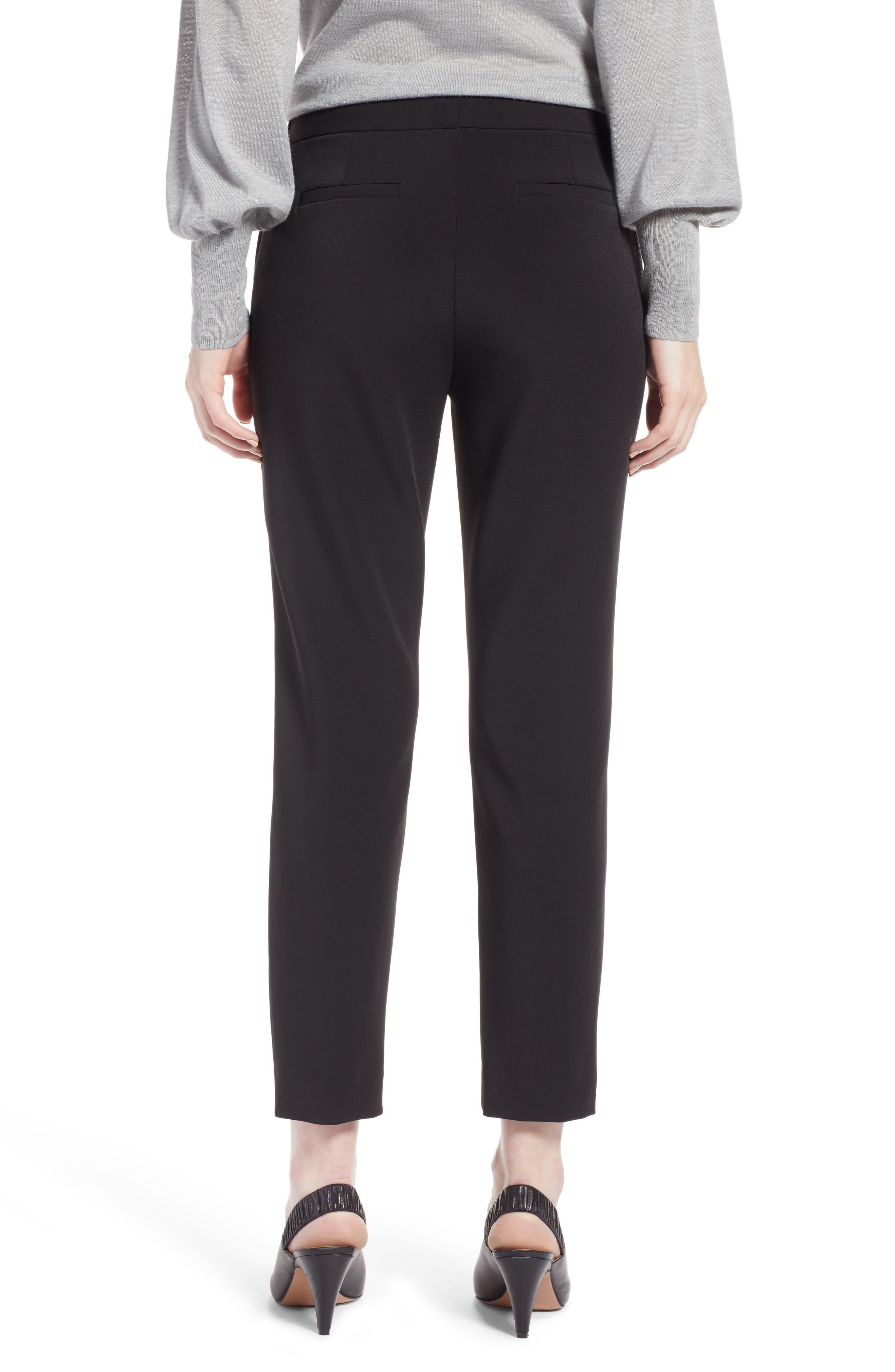 Slim Pants,                             Alternate thumbnail 2, color,                             BLACK TECH
