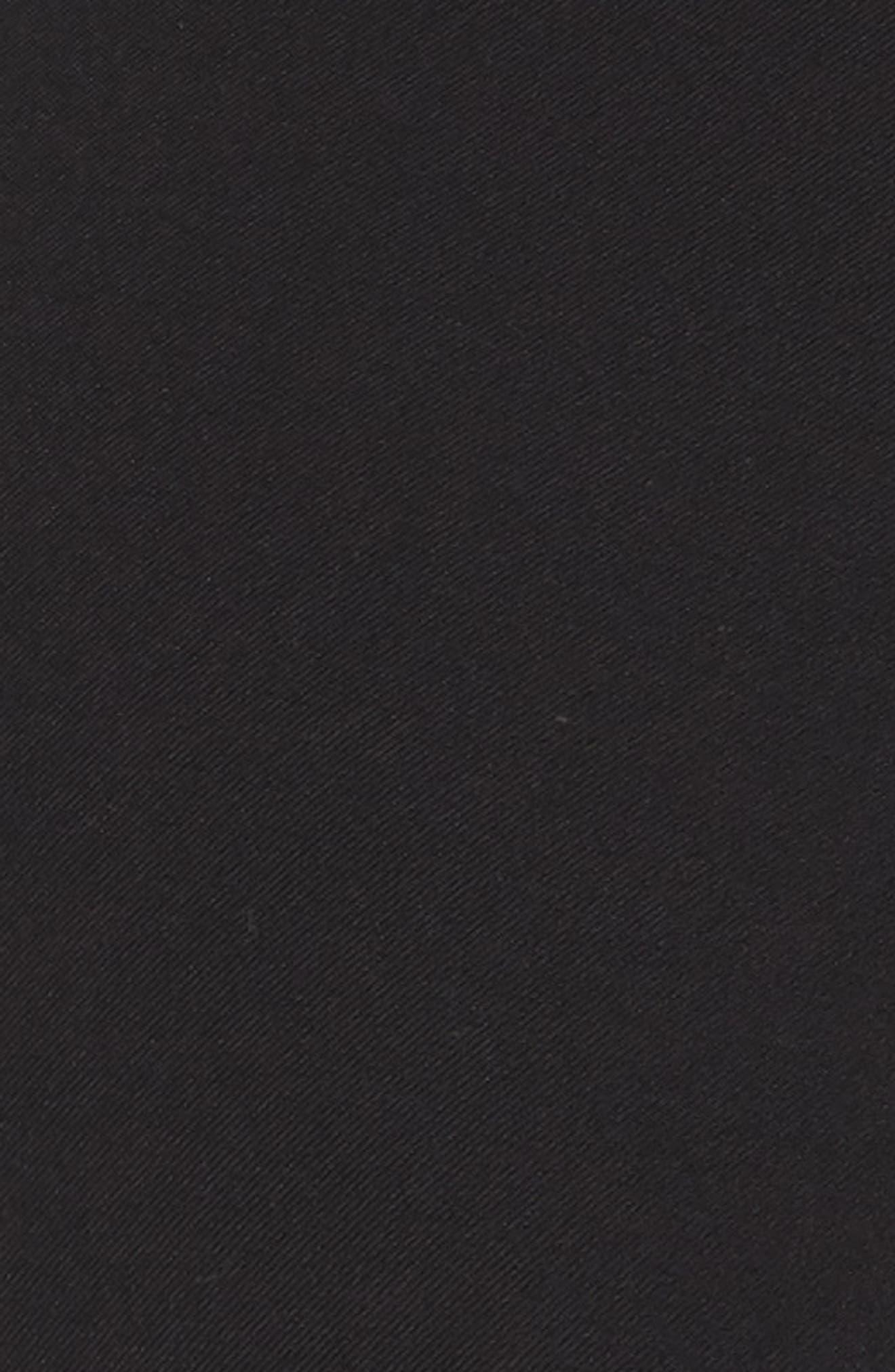 Lafayette 148 Murray Crop Pant,                             Alternate thumbnail 5, color,                             BLACK