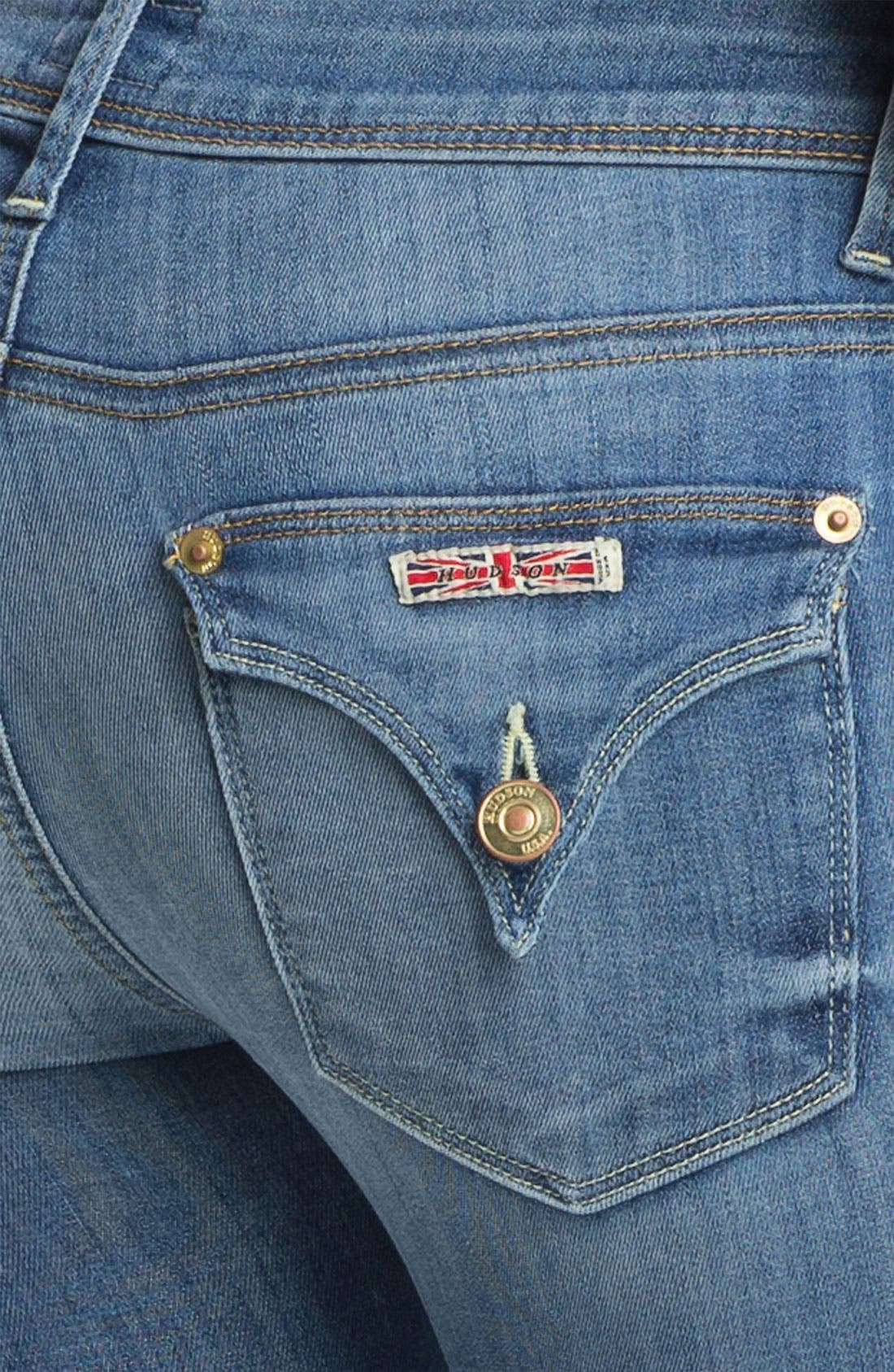 'Baby Boot' Crop Jeans,                             Alternate thumbnail 2, color,                             450