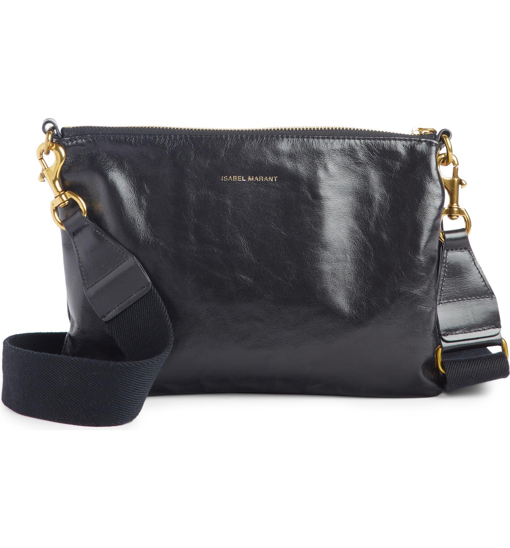 Isabel Marant Nessah Leather Crossbody Bag   Nordstrom e632151874