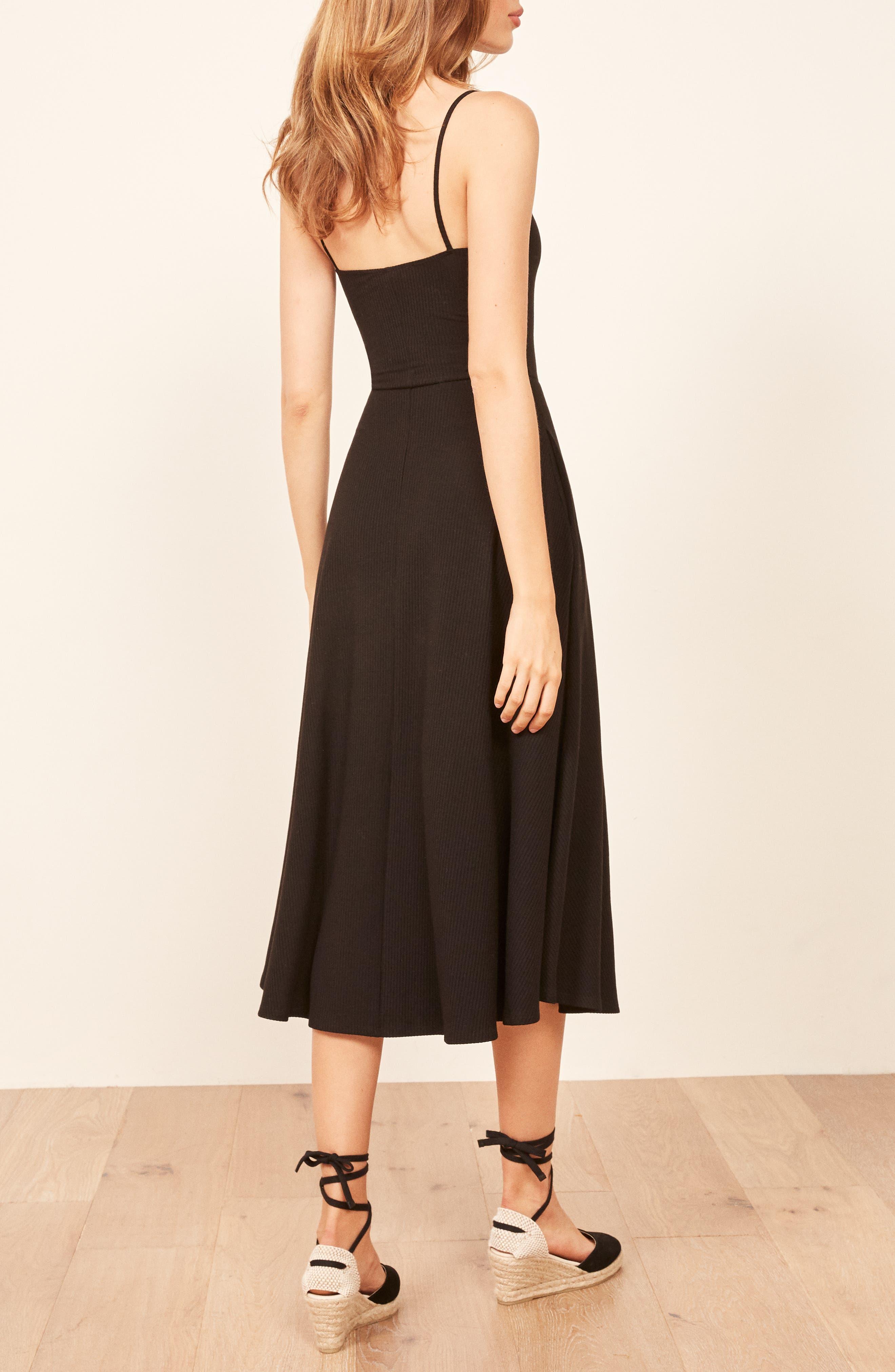 Bettie Dress,                             Alternate thumbnail 3, color,                             BLACK