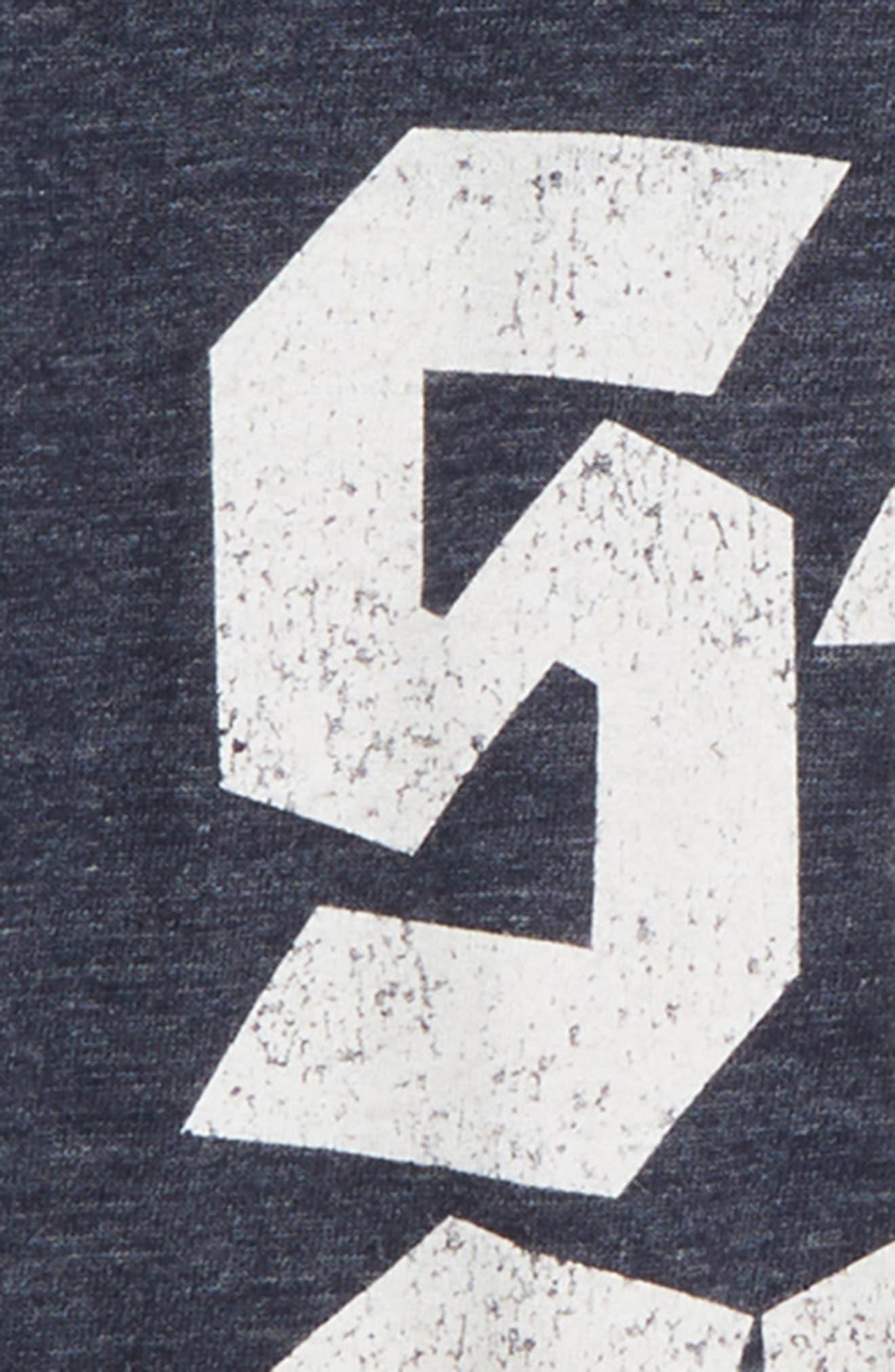 TINY WHALES,                             Still Chill Football T-Shirt,                             Alternate thumbnail 2, color,                             400