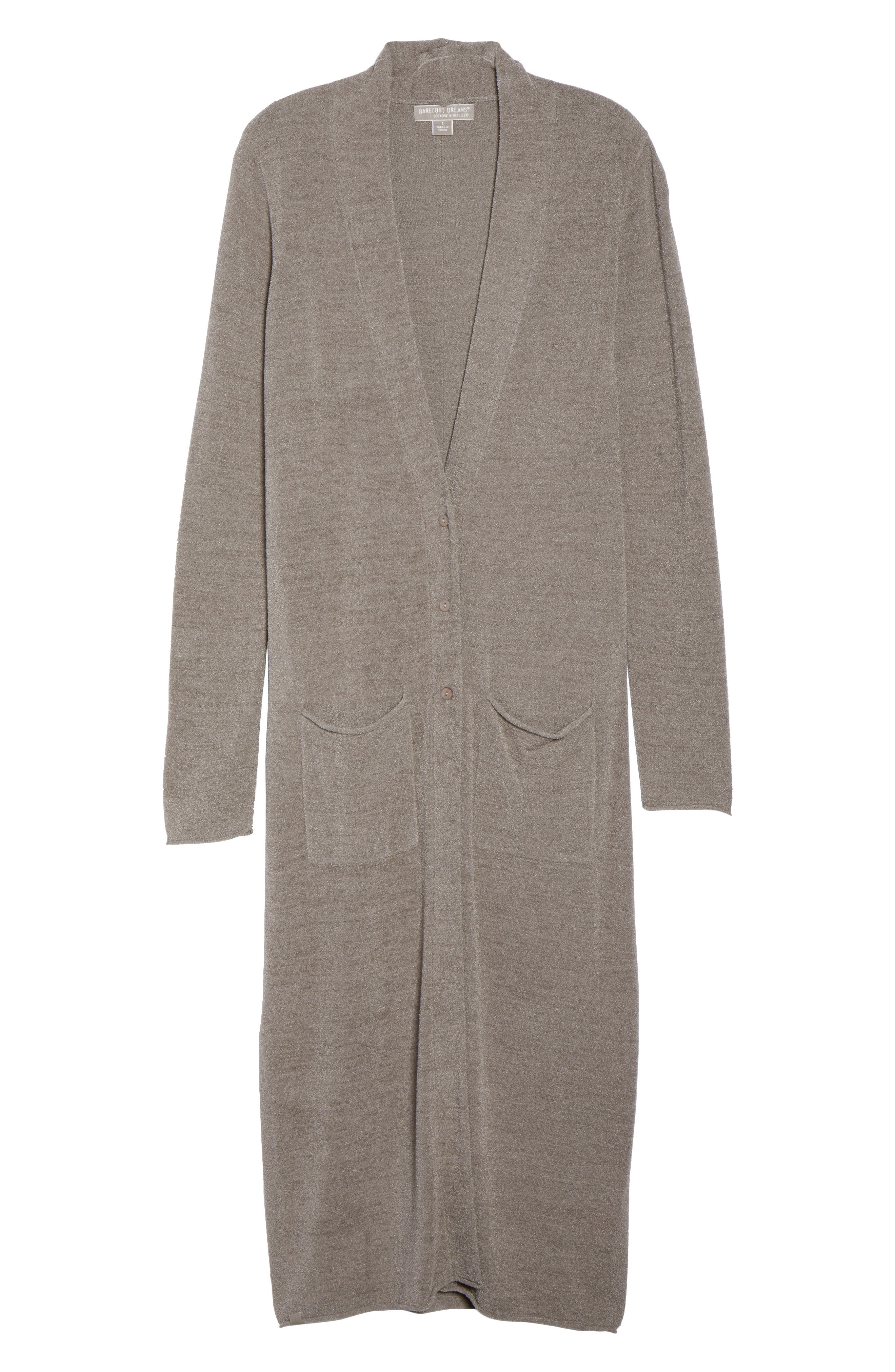 BAREFOOT DREAMS<SUP>®</SUP>,                             Barefoot Dreams Cozychic Ultra Lite<sup>®</sup> Duster,                             Alternate thumbnail 6, color,                             BEACH ROCK