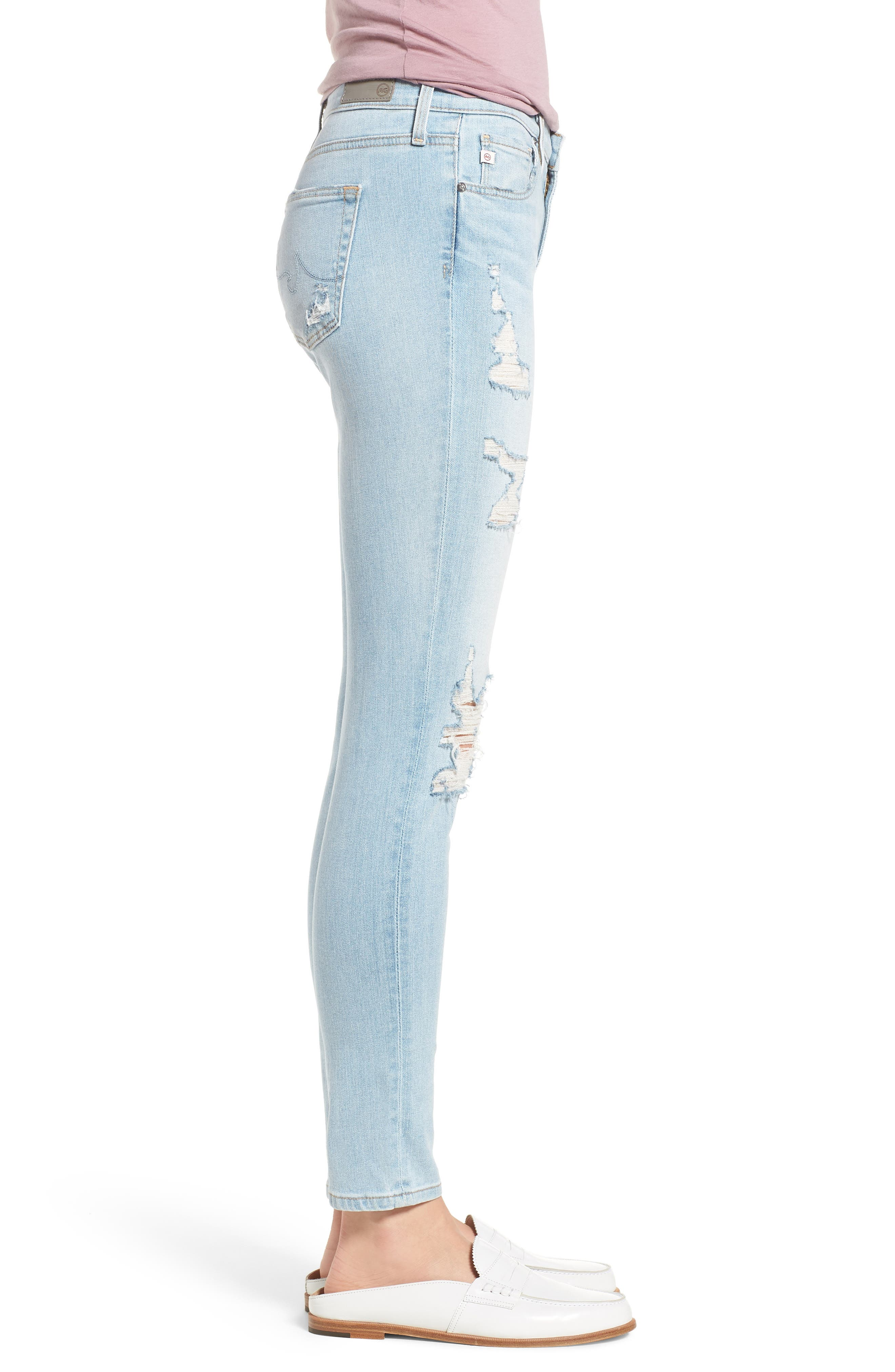 The Legging Ankle Super Skinny Jeans,                             Alternate thumbnail 42, color,