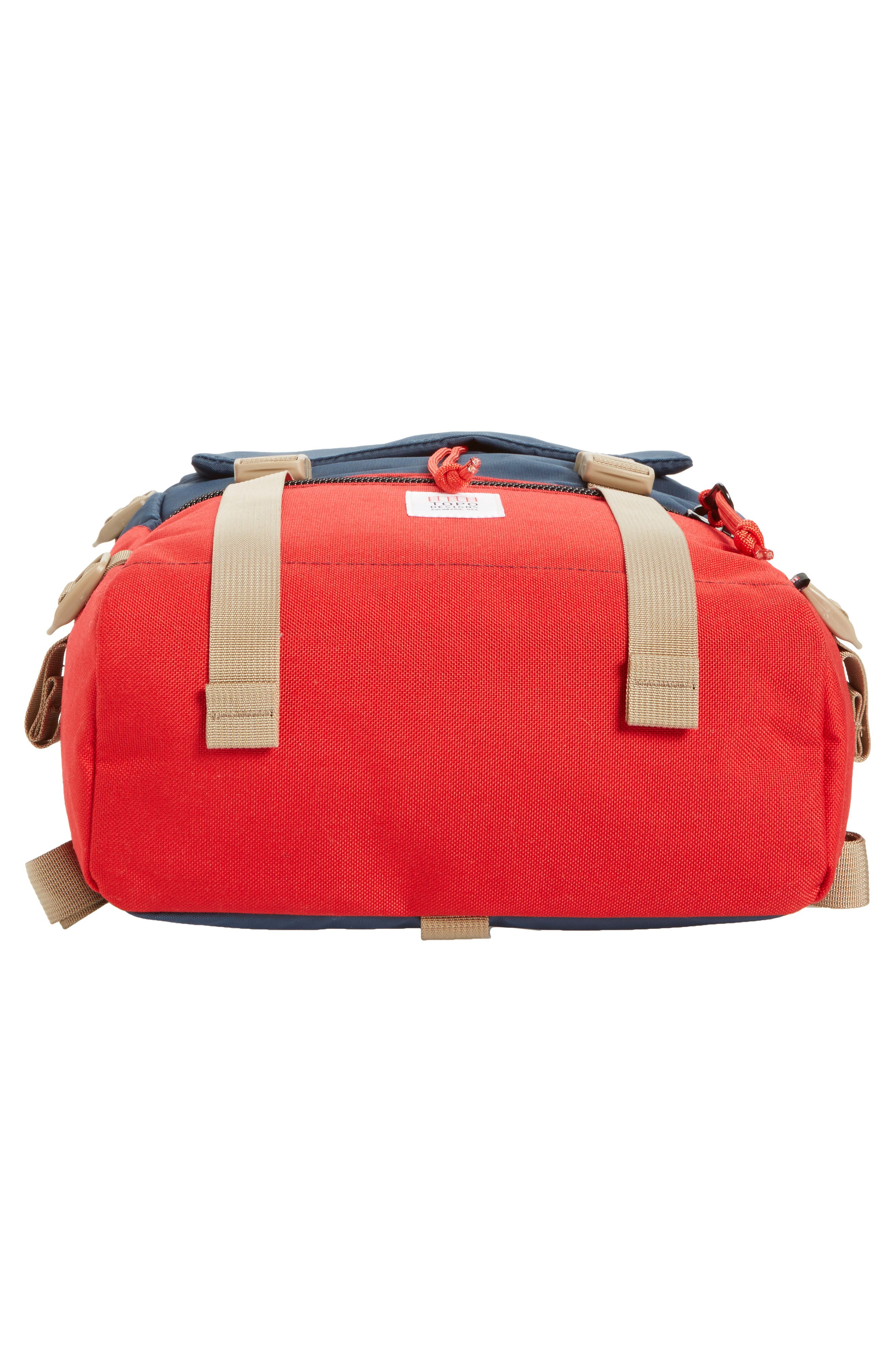 'Rover' Backpack,                             Alternate thumbnail 6, color,                             NAVY/ RED