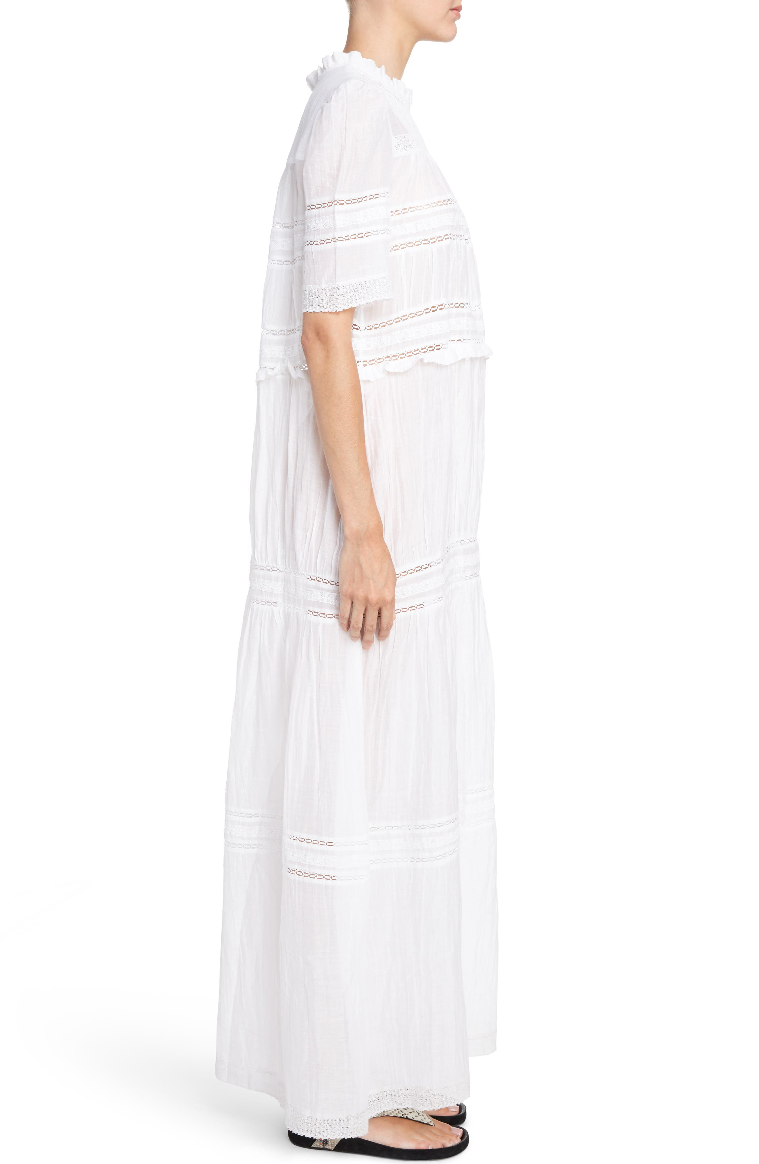 Vealy Maxi Dress,                             Alternate thumbnail 3, color,                             100