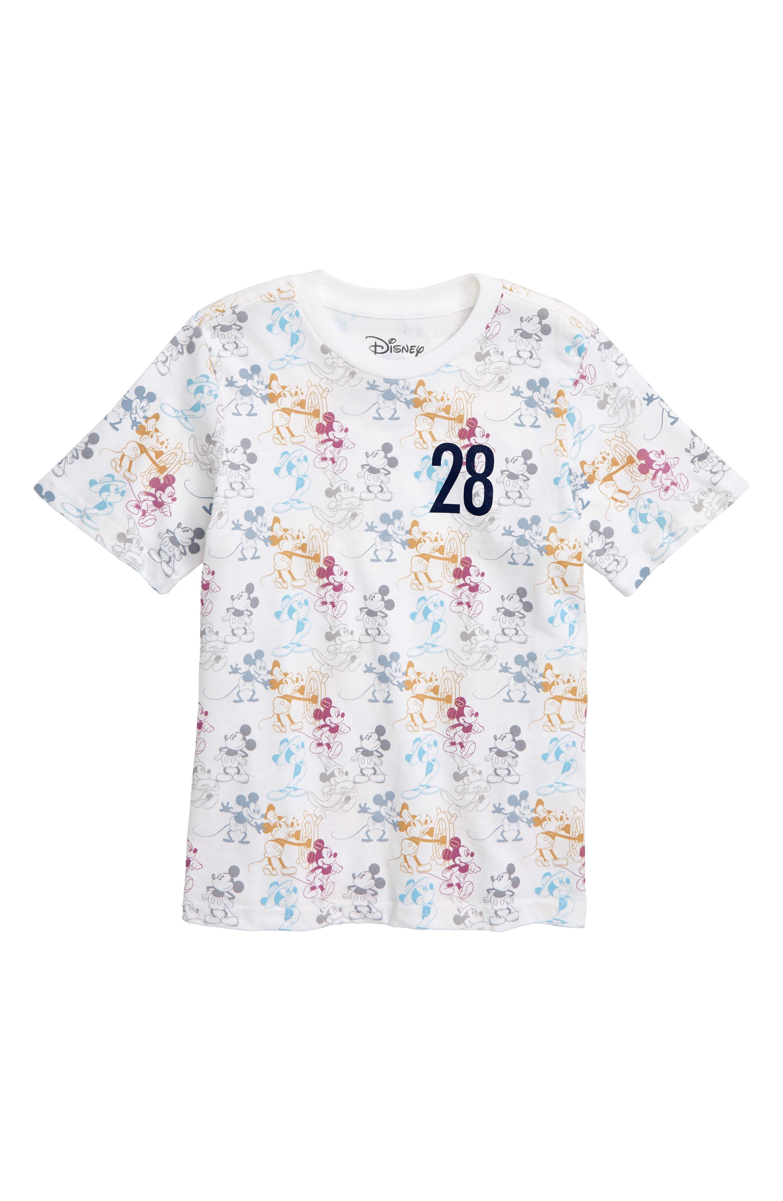 Disney<sup>®</sup> Mickey Mouse T-Shirt,                             Main thumbnail 1, color,                             100