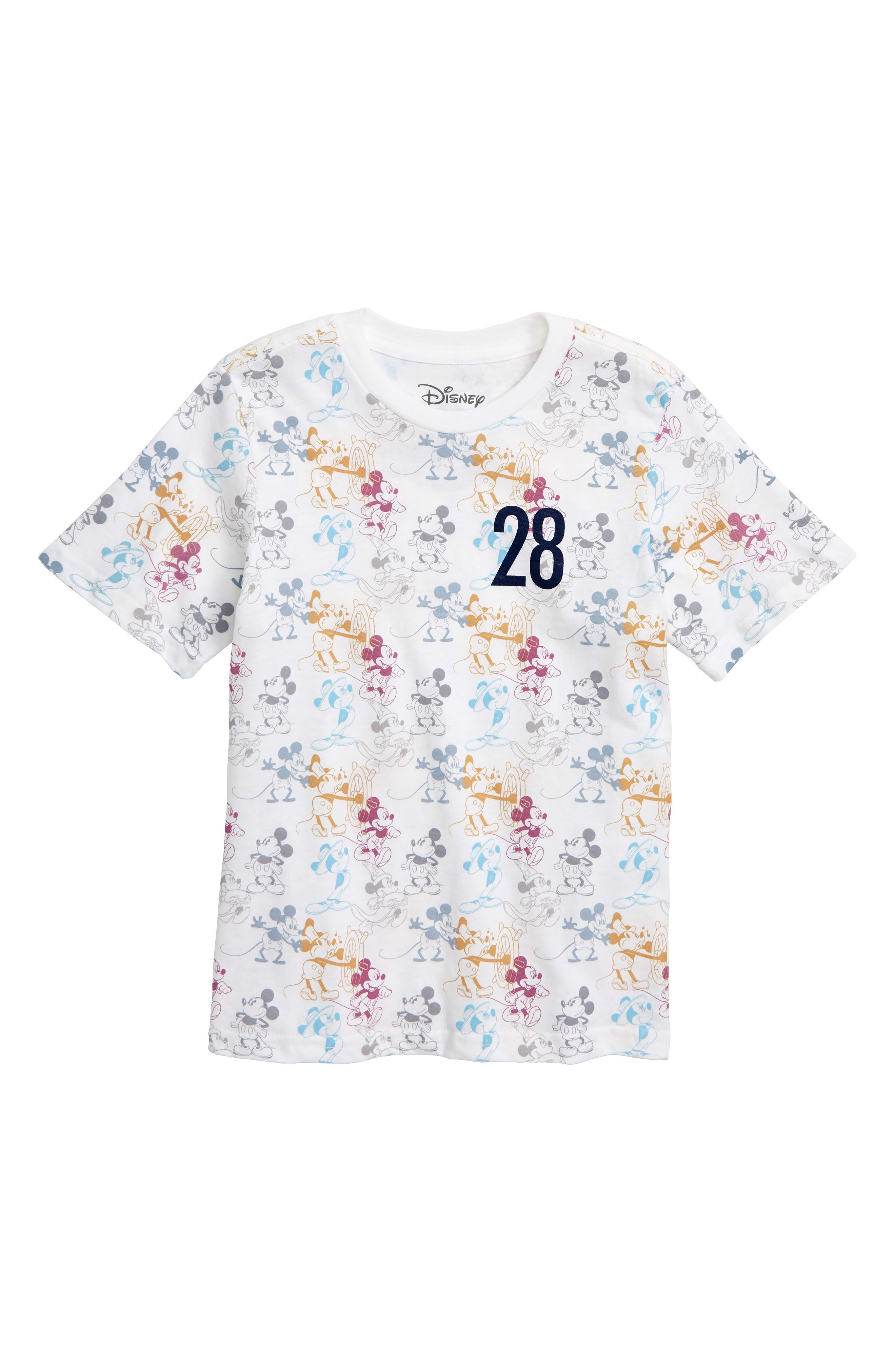 Disney<sup>®</sup> Mickey Mouse T-Shirt,                         Main,                         color, 100