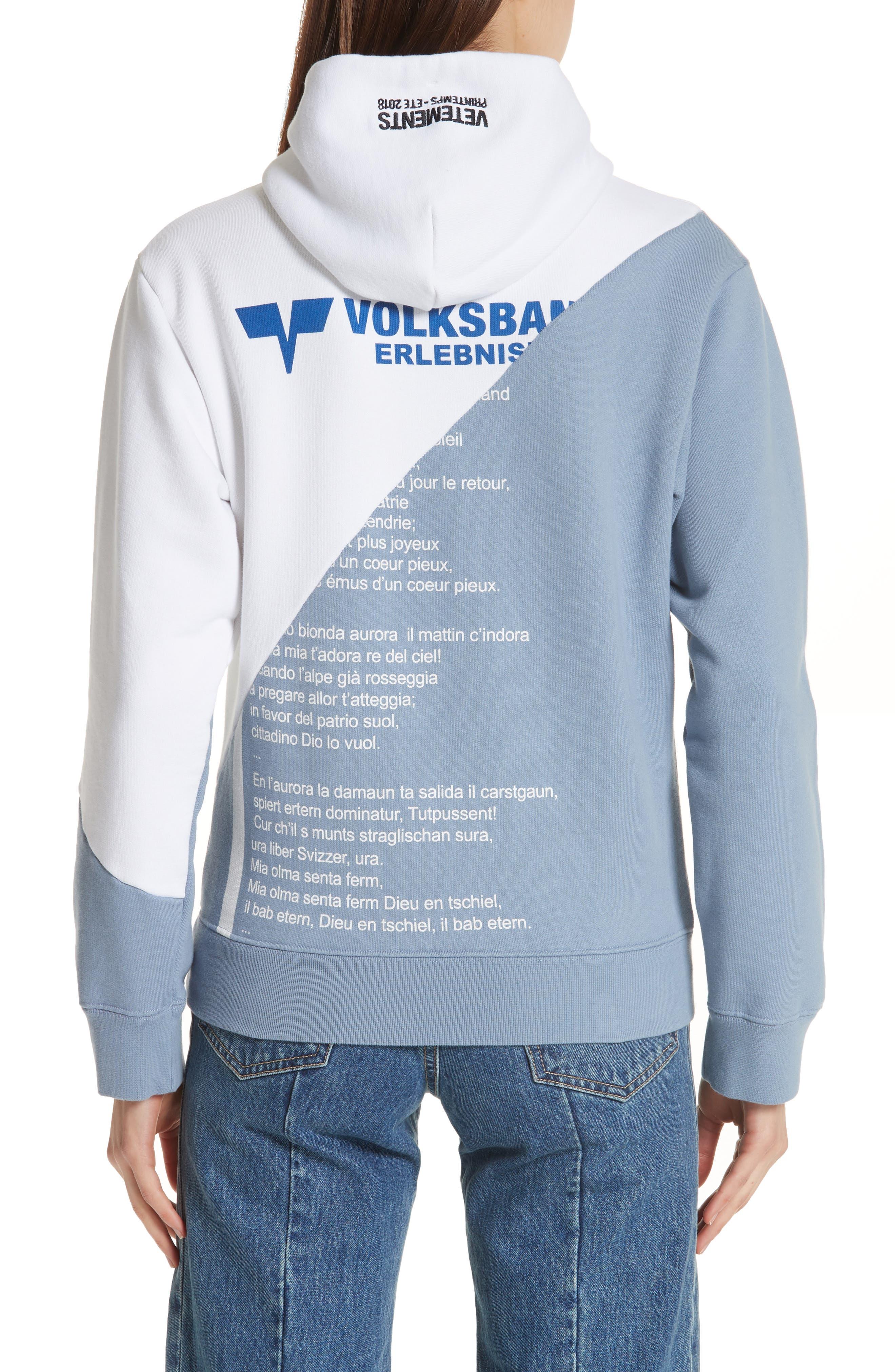 Volksbank Diagonal Hoodie,                             Alternate thumbnail 2, color,                             115