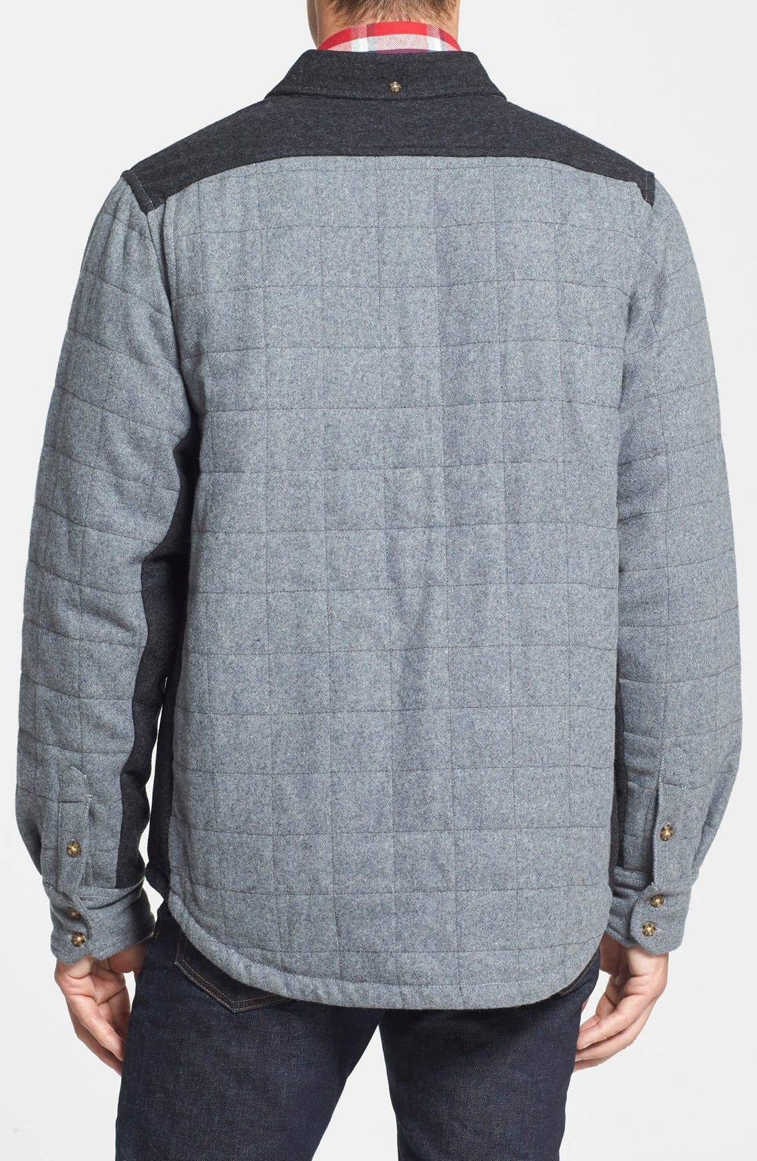 'Mystic' Dryride Ultrawick<sup>™</sup> Quilted Shirt Jacket,                             Alternate thumbnail 4, color,                             084