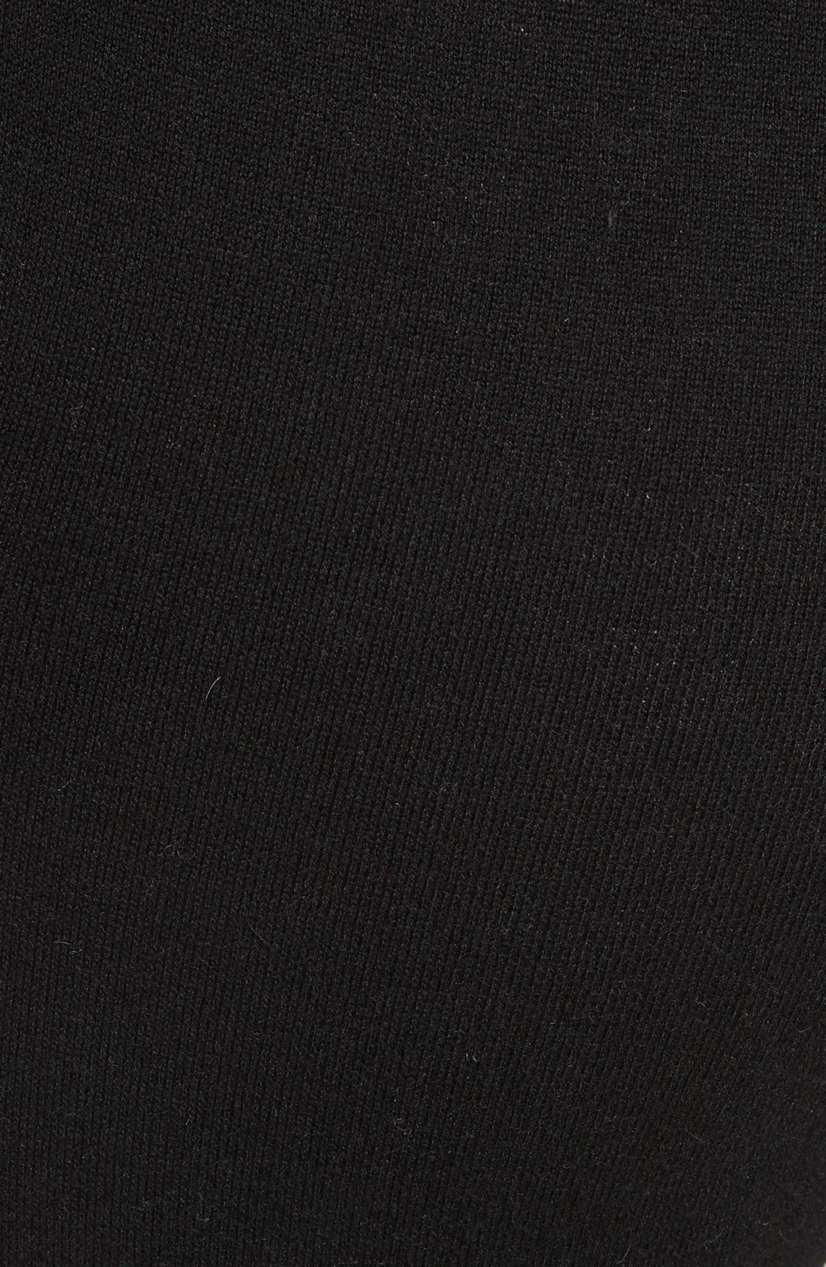 Cotton Blend Knit Sweatpants,                             Alternate thumbnail 5, color,