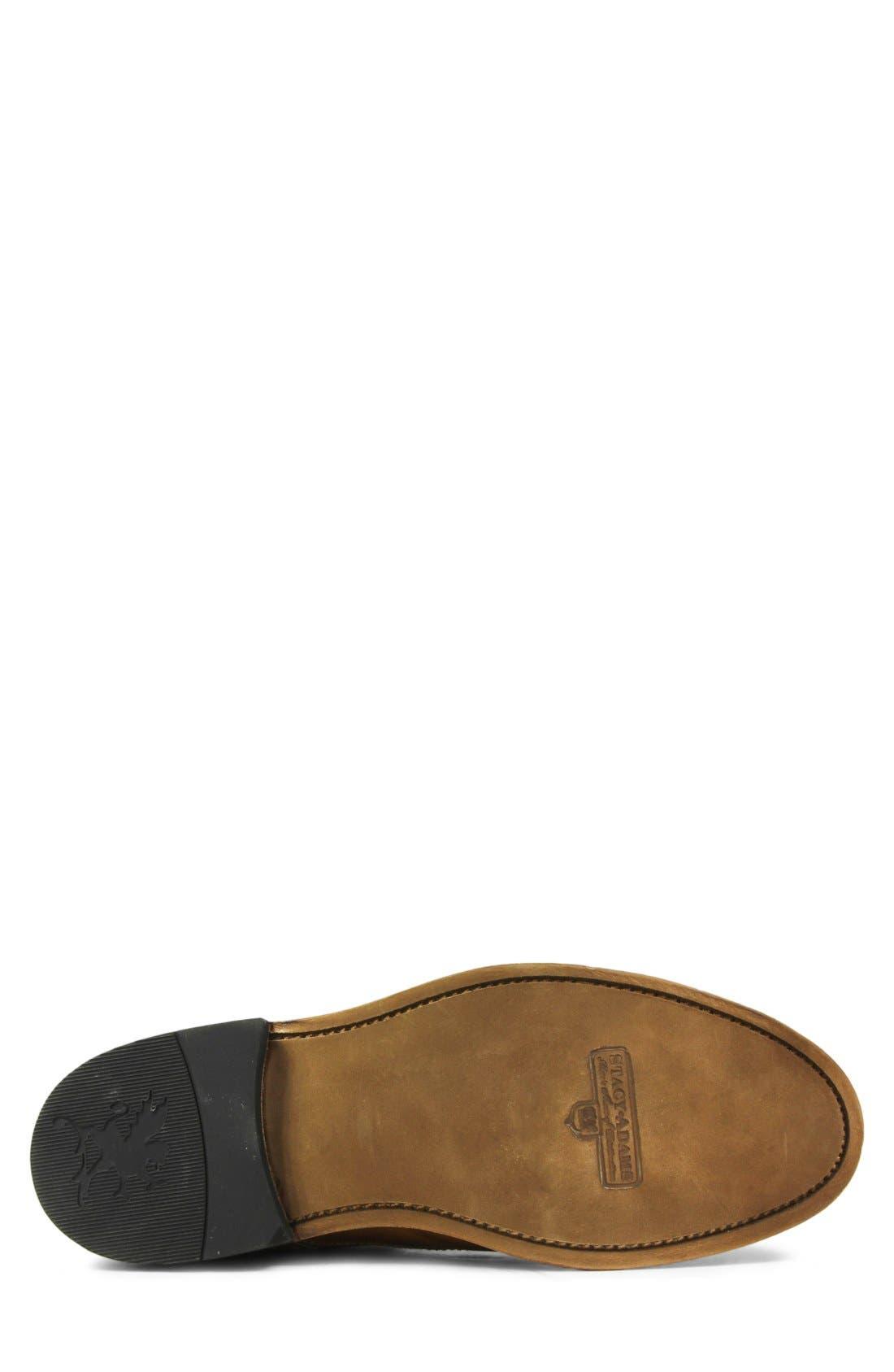 Madison II Cap Toe Boot,                             Alternate thumbnail 4, color,                             TAN SMOOTH