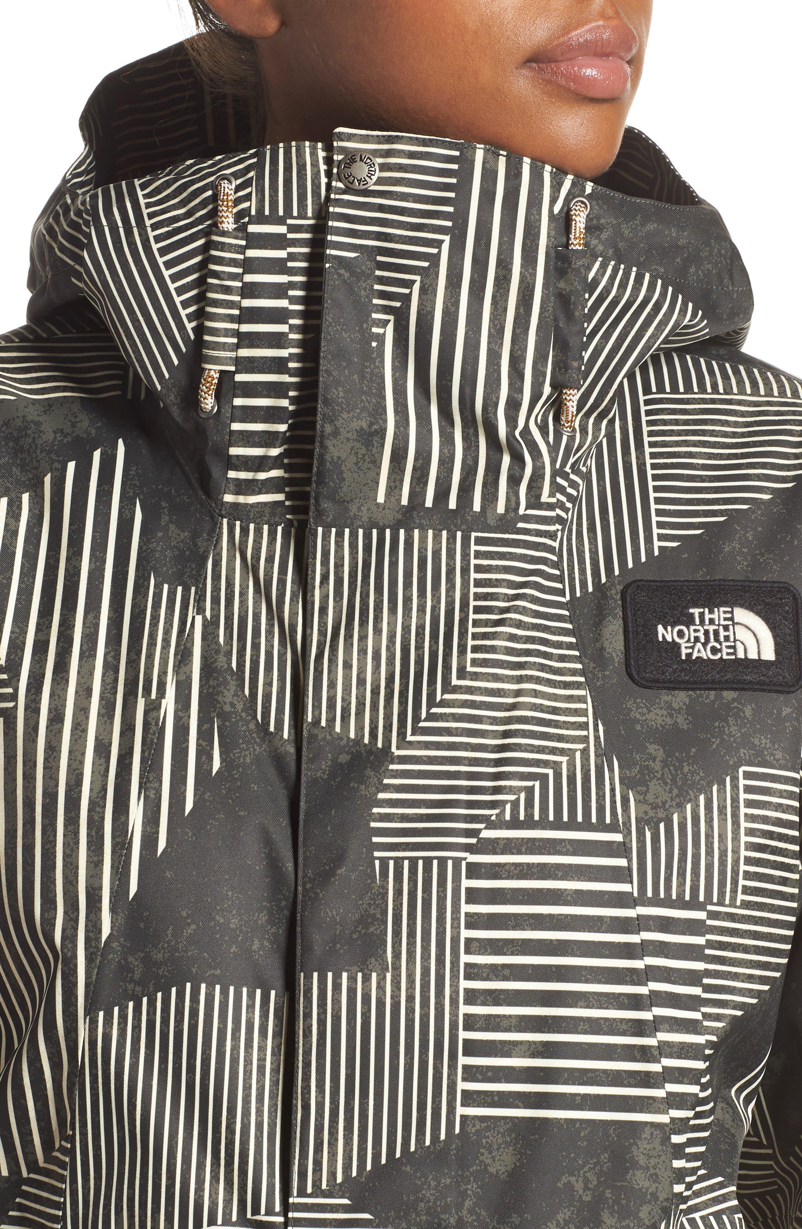Superlu Weatherproof Hooded Ski Jacket,                             Alternate thumbnail 4, color,                             021