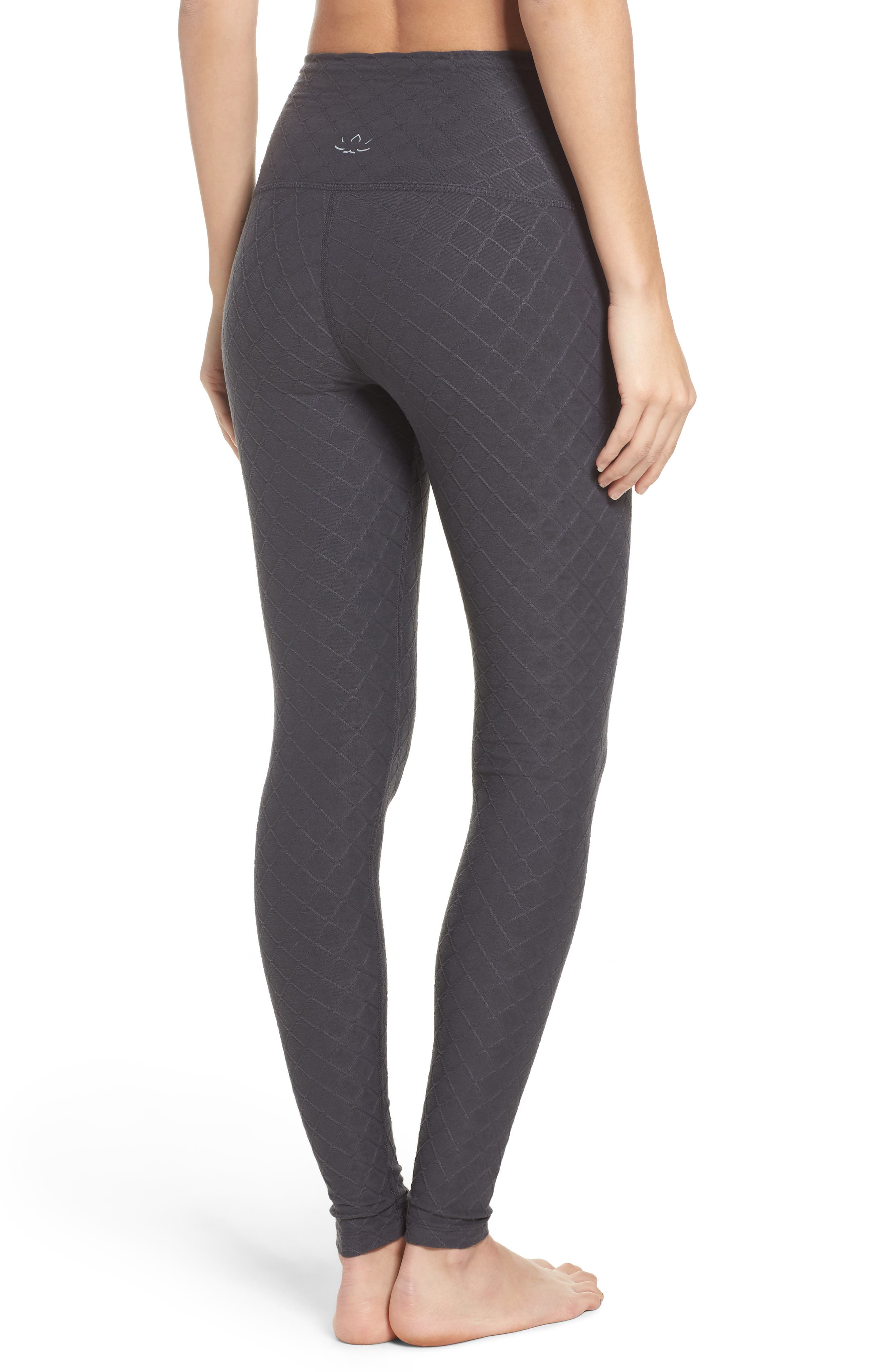 Can't Quilt You High Waist Leggings,                             Alternate thumbnail 2, color,                             023