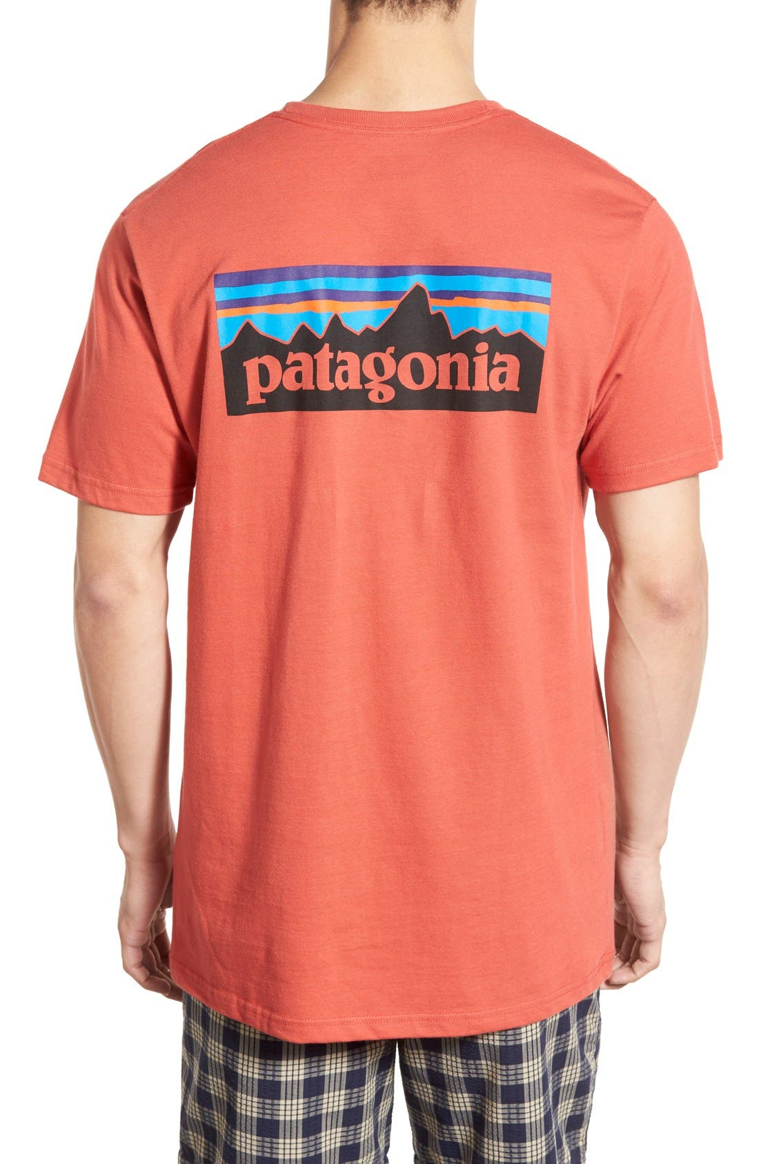 'P-6 Logo' Organic Cotton T-Shirt,                             Main thumbnail 8, color,