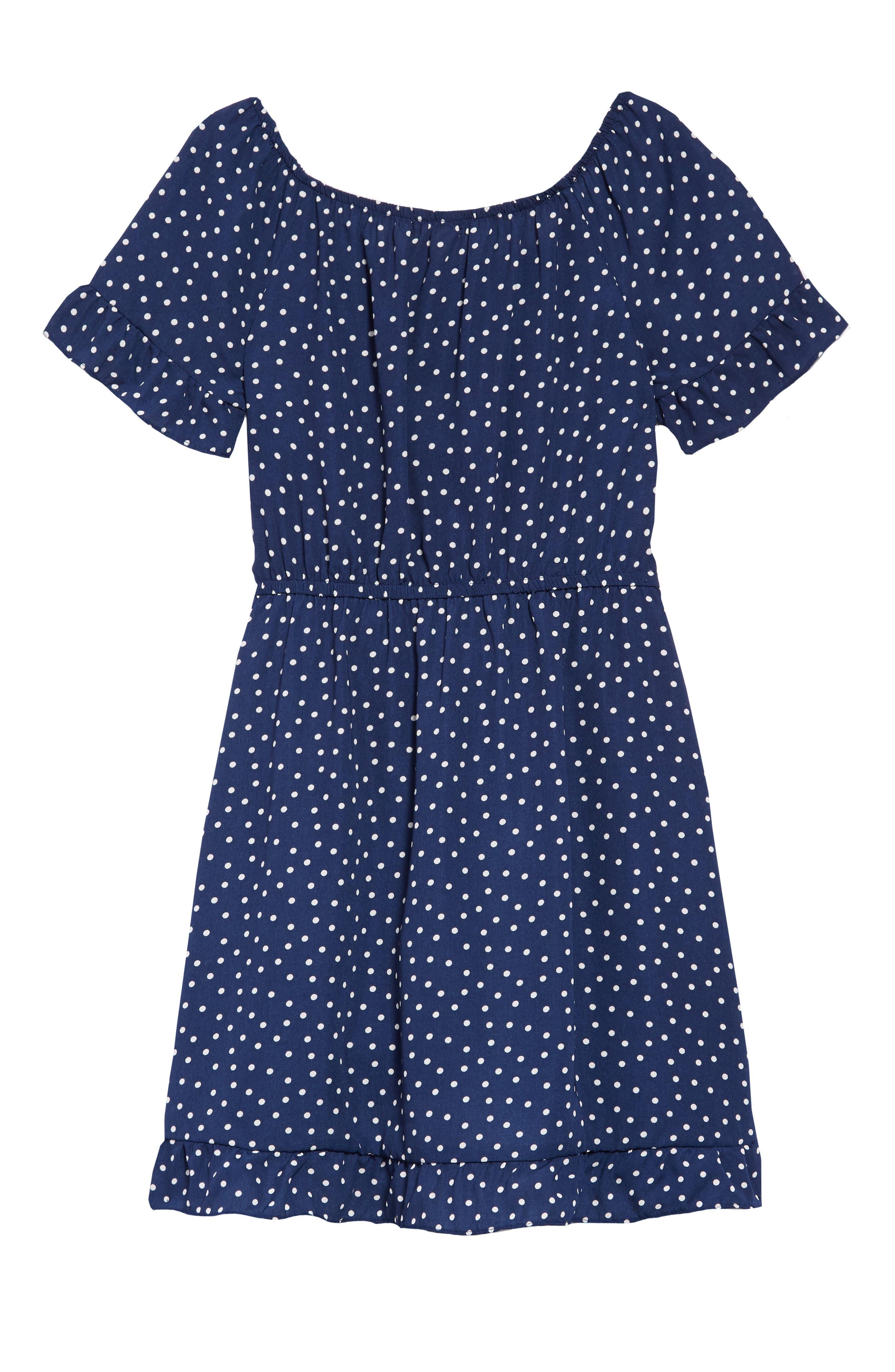 Ruffle Dress,                             Alternate thumbnail 2, color,                             401