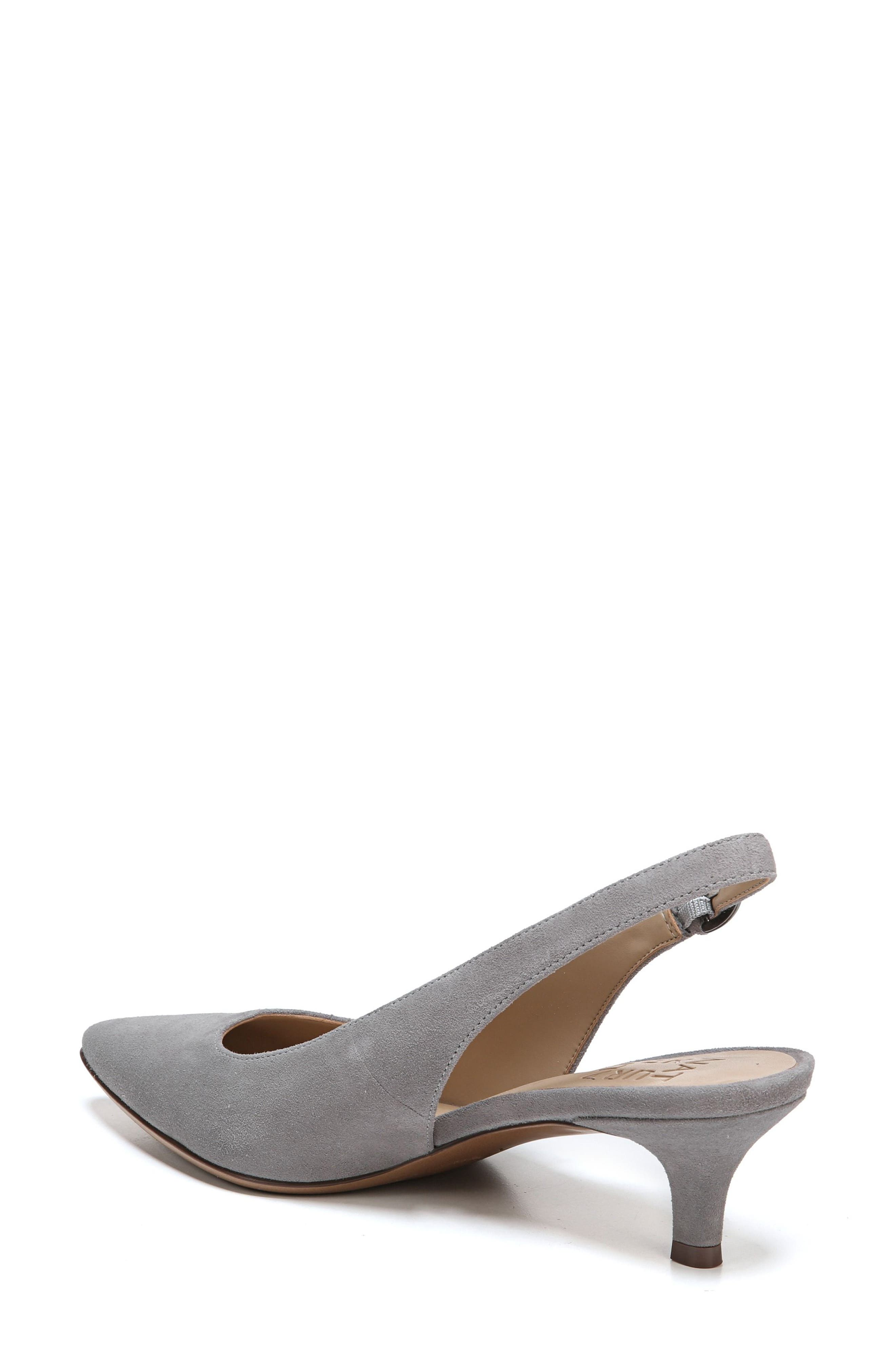 Slingback Pump,                             Alternate thumbnail 2, color,                             GREY SUEDE