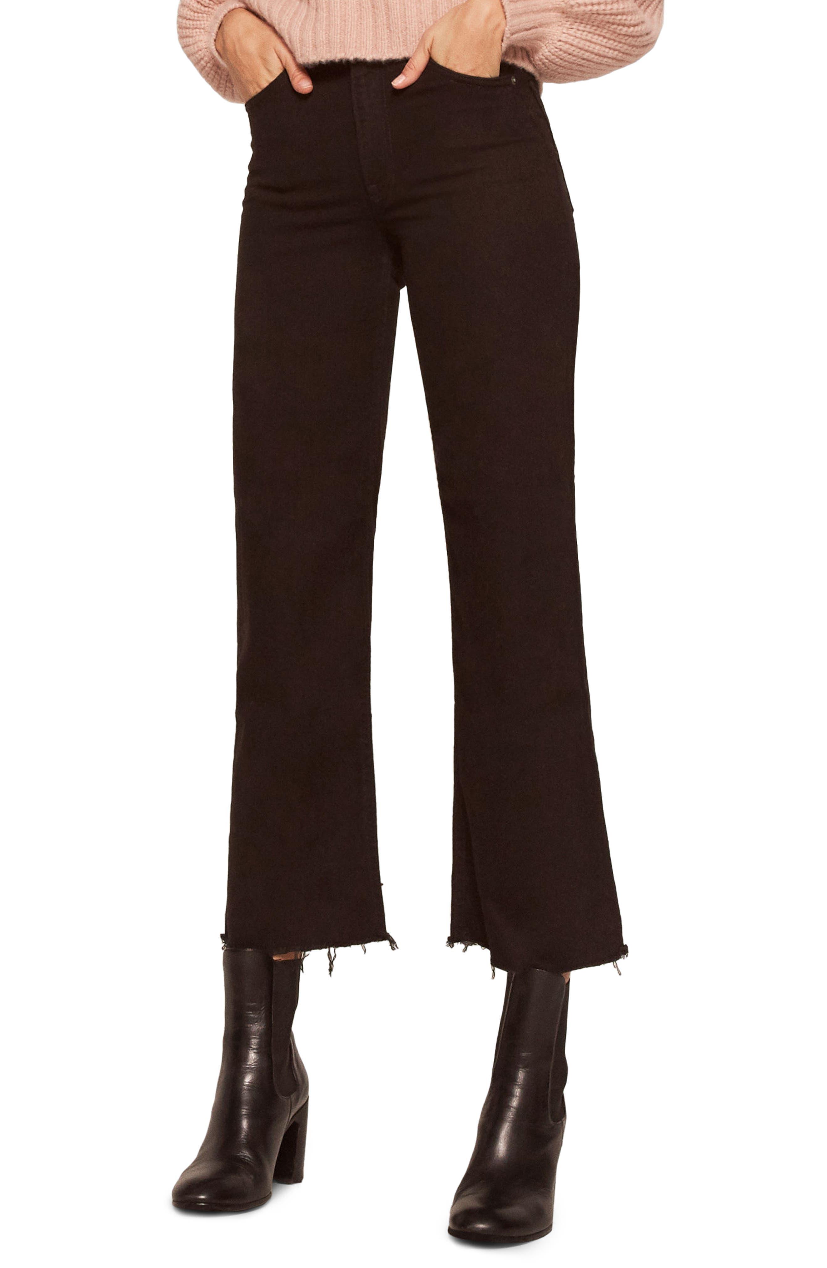 Stretch Crop Jeans,                             Main thumbnail 1, color,                             001