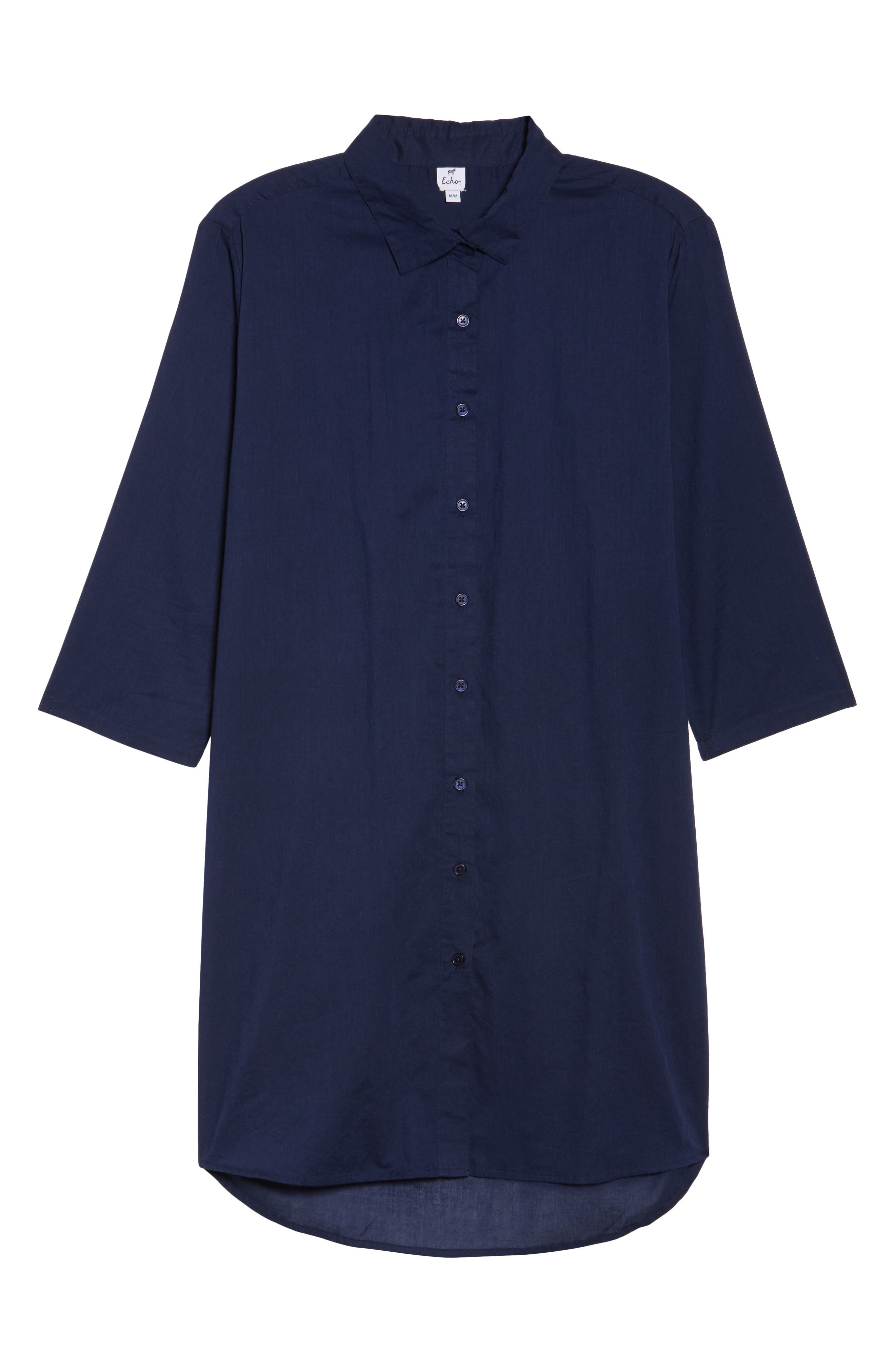Solid Cover-Up Dress,                             Alternate thumbnail 17, color,