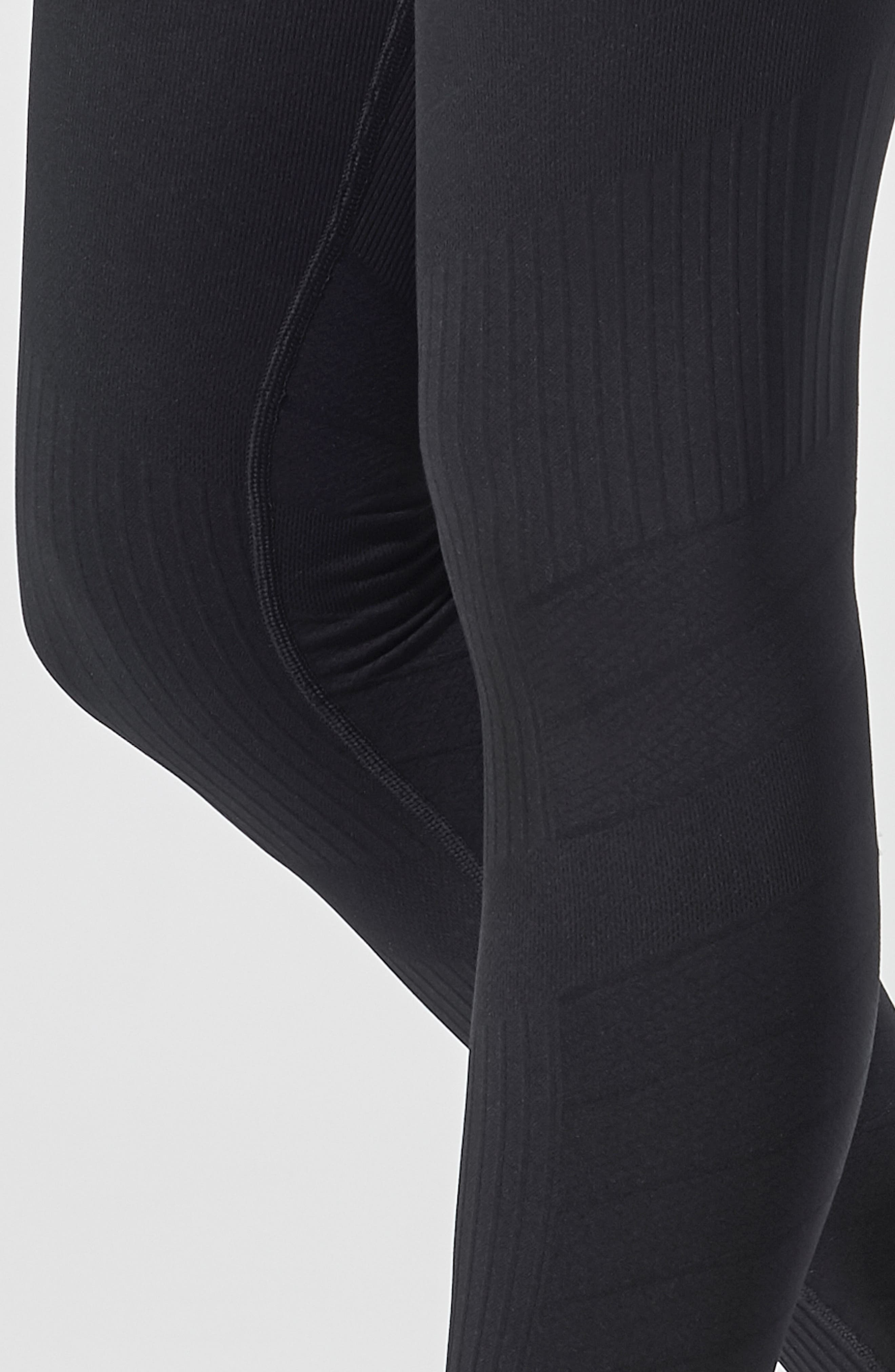 SportSupport<sup>®</sup> Hipster Contour Support Maternity/Postpartum Leggings,                             Alternate thumbnail 5, color,                             BLACK