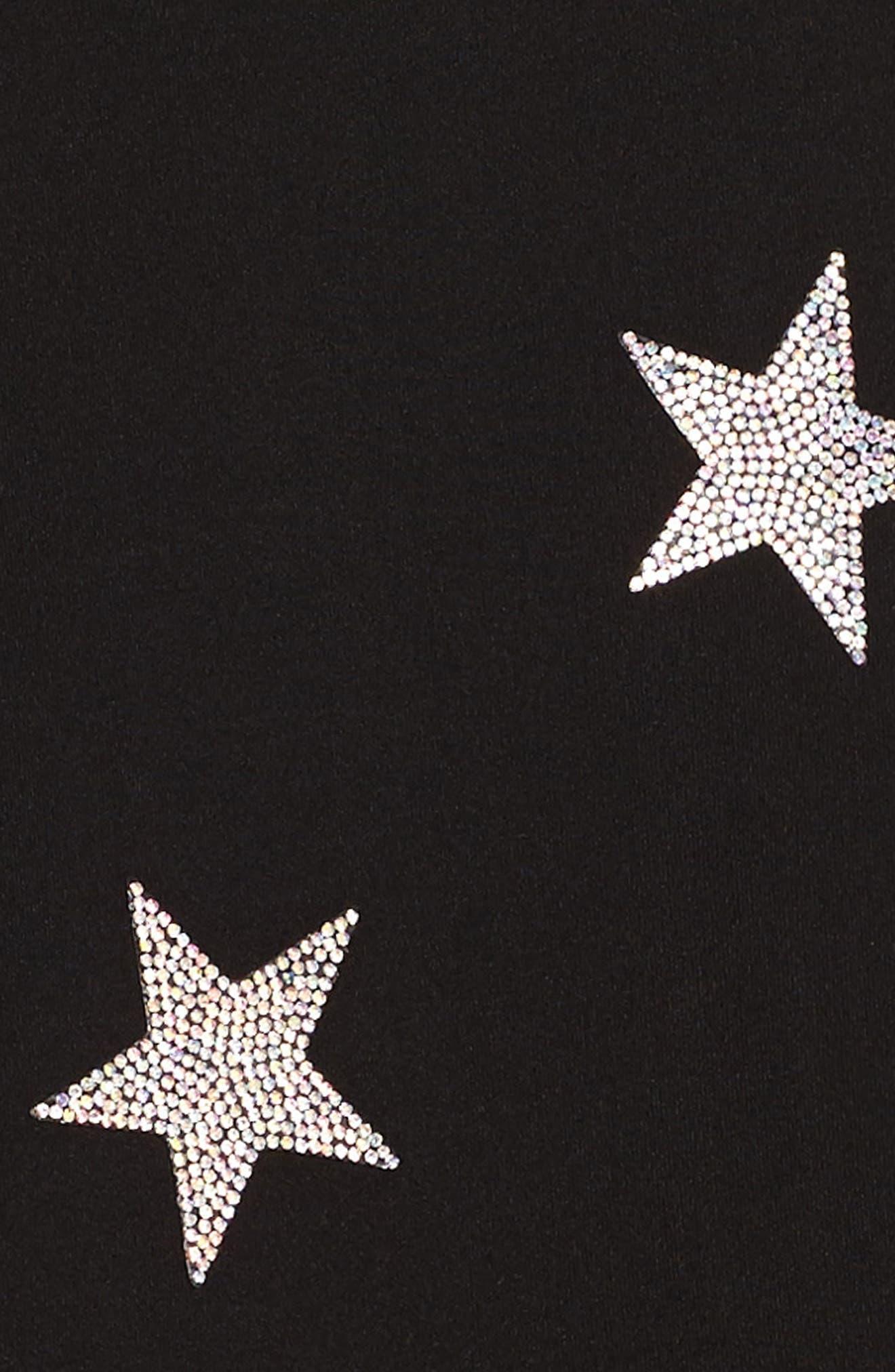 Star Embellished Dress,                             Alternate thumbnail 3, color,                             006