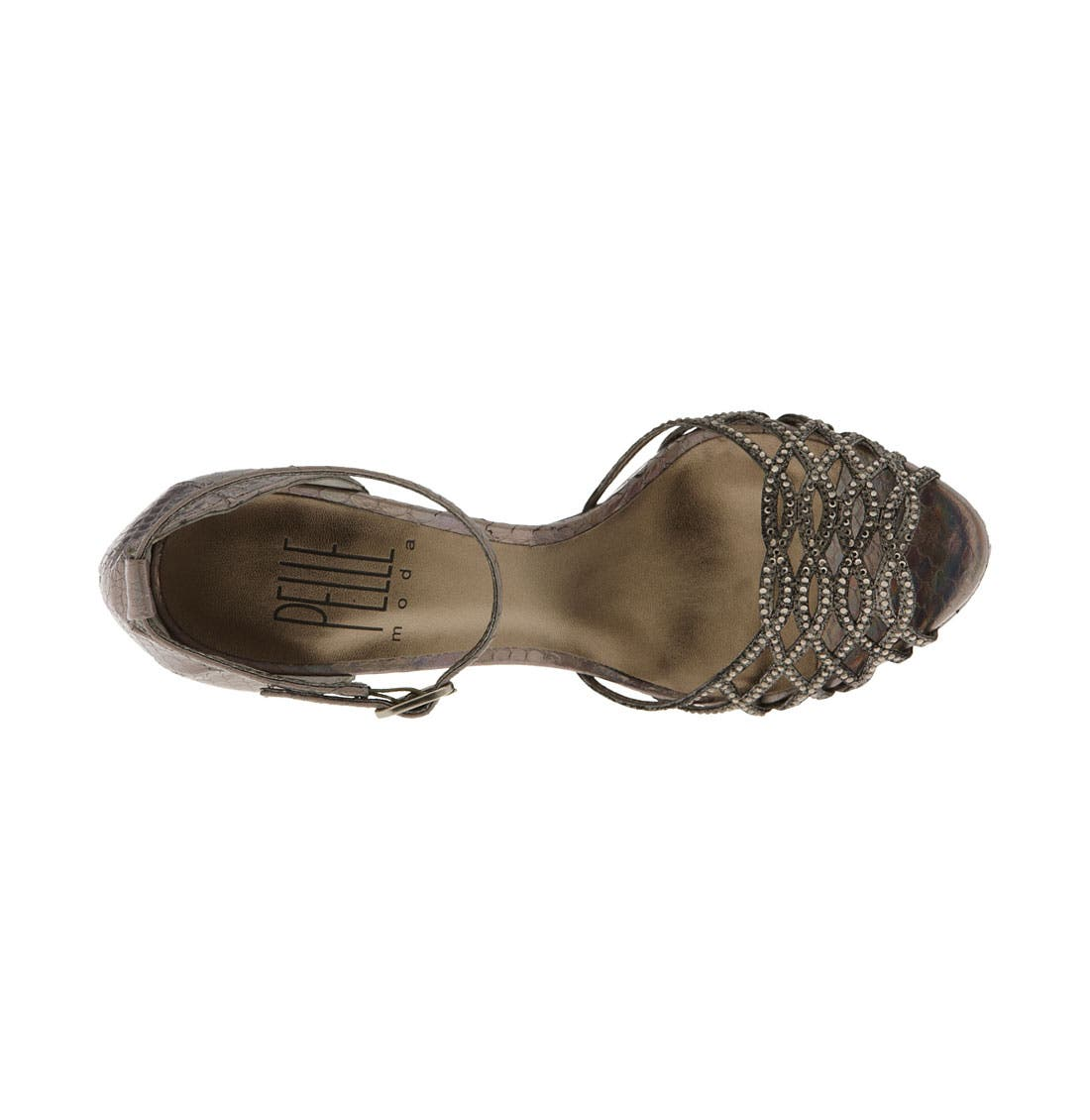 PELLE MODA,                             'Fairs' Platform Sandal,                             Alternate thumbnail 3, color,                             040