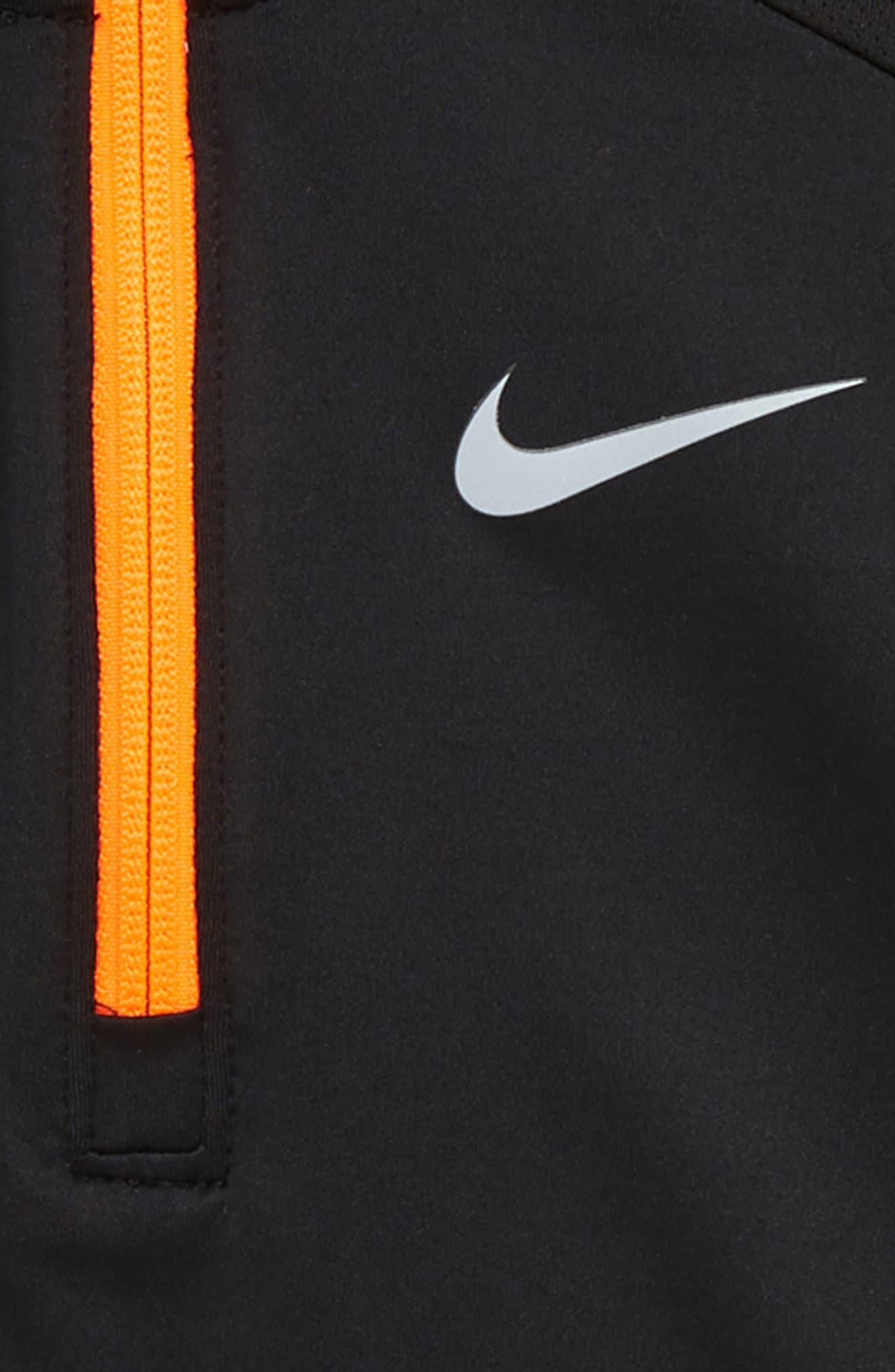 Dry Element Half Zip Pullover,                             Alternate thumbnail 2, color,                             BLACK