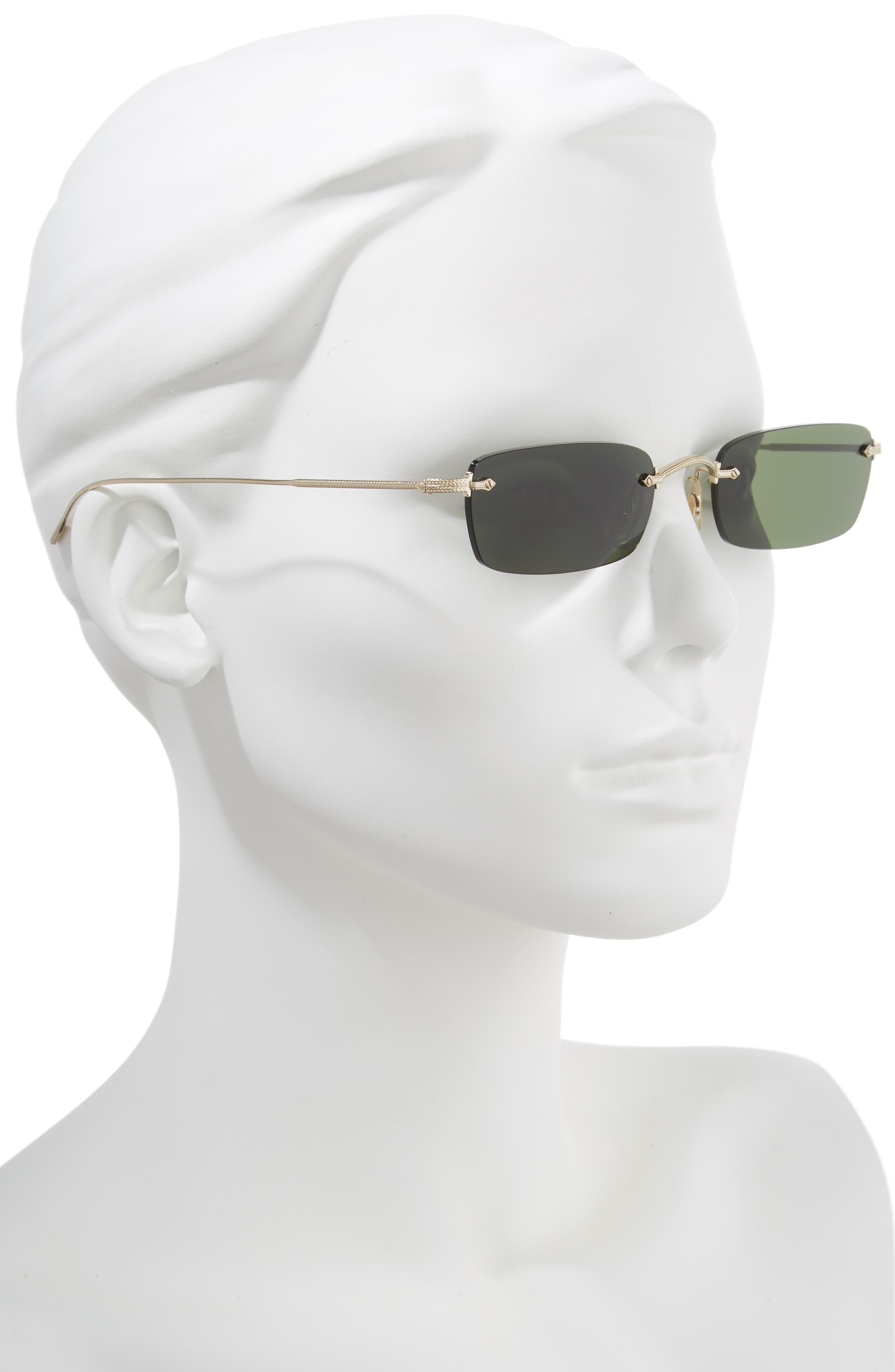 Daveigh 54mm Sunglasses,                             Alternate thumbnail 2, color,                             GREEN