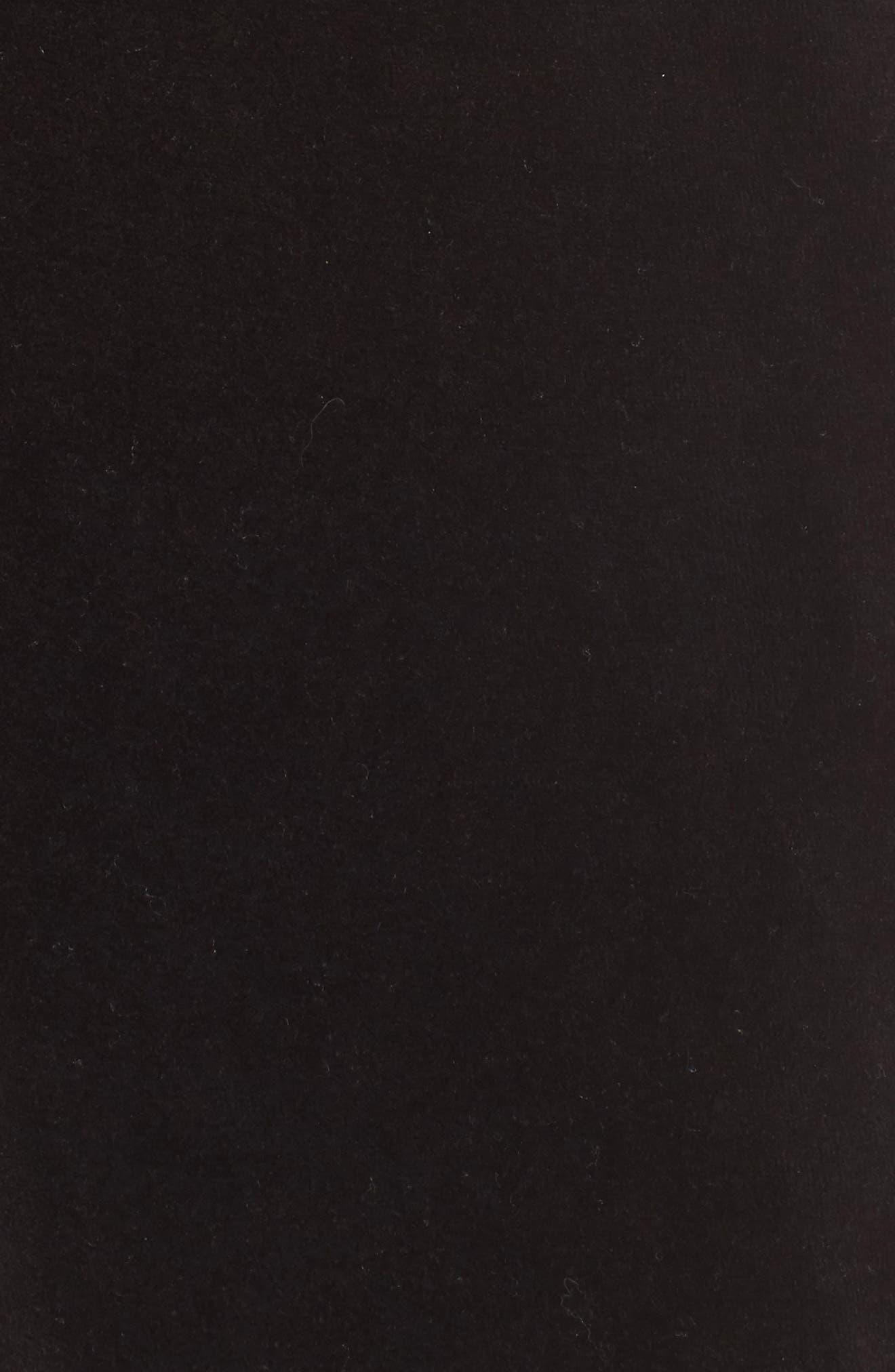 Velour Sweatpants,                             Alternate thumbnail 6, color,                             001