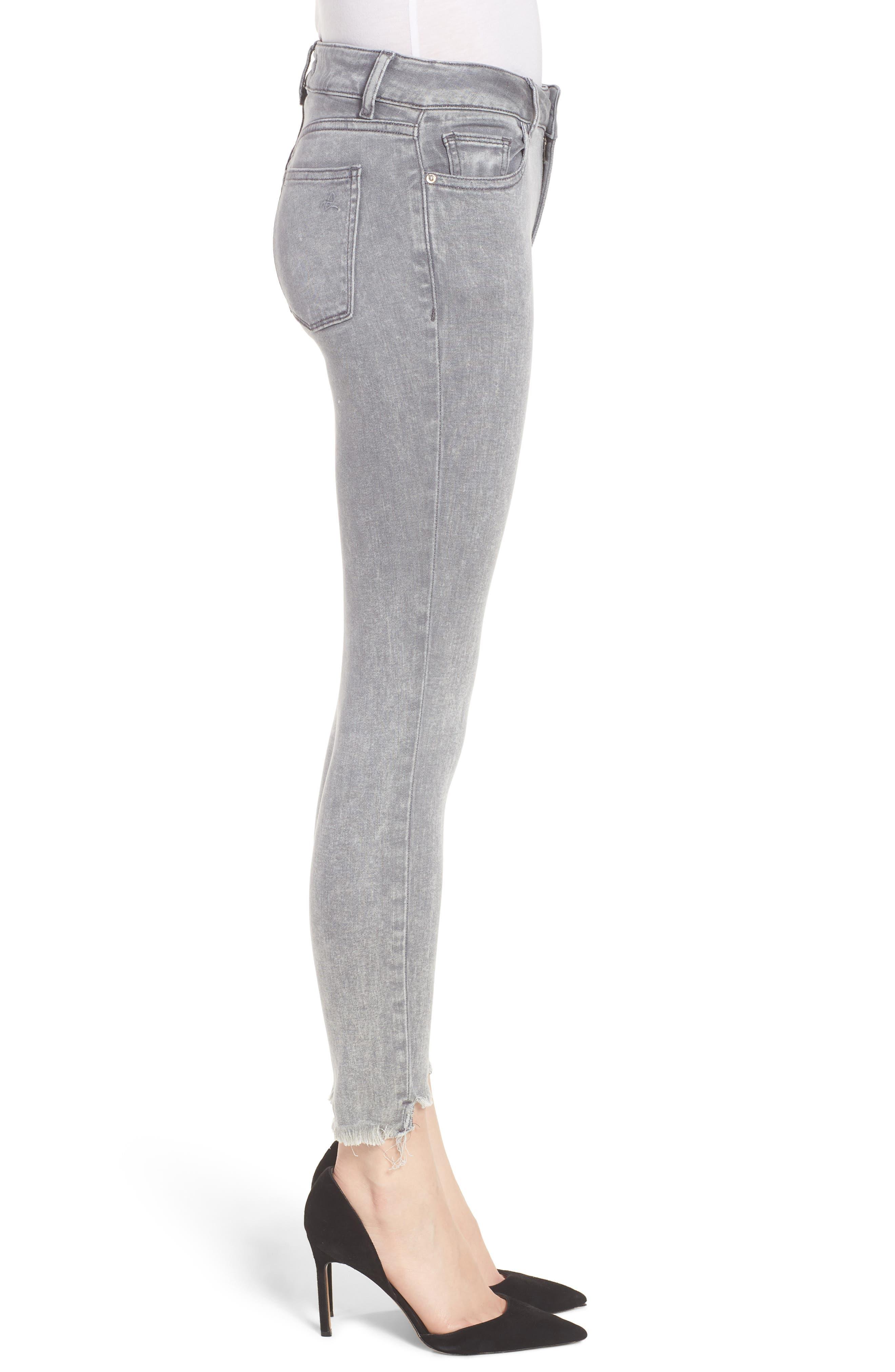 Florence Instasculpt Crop Skinny Jeans,                             Alternate thumbnail 3, color,                             430