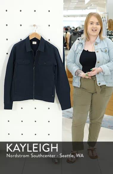 Axle Shop Regular Stretch Cotton Blend Jacket, sales video thumbnail