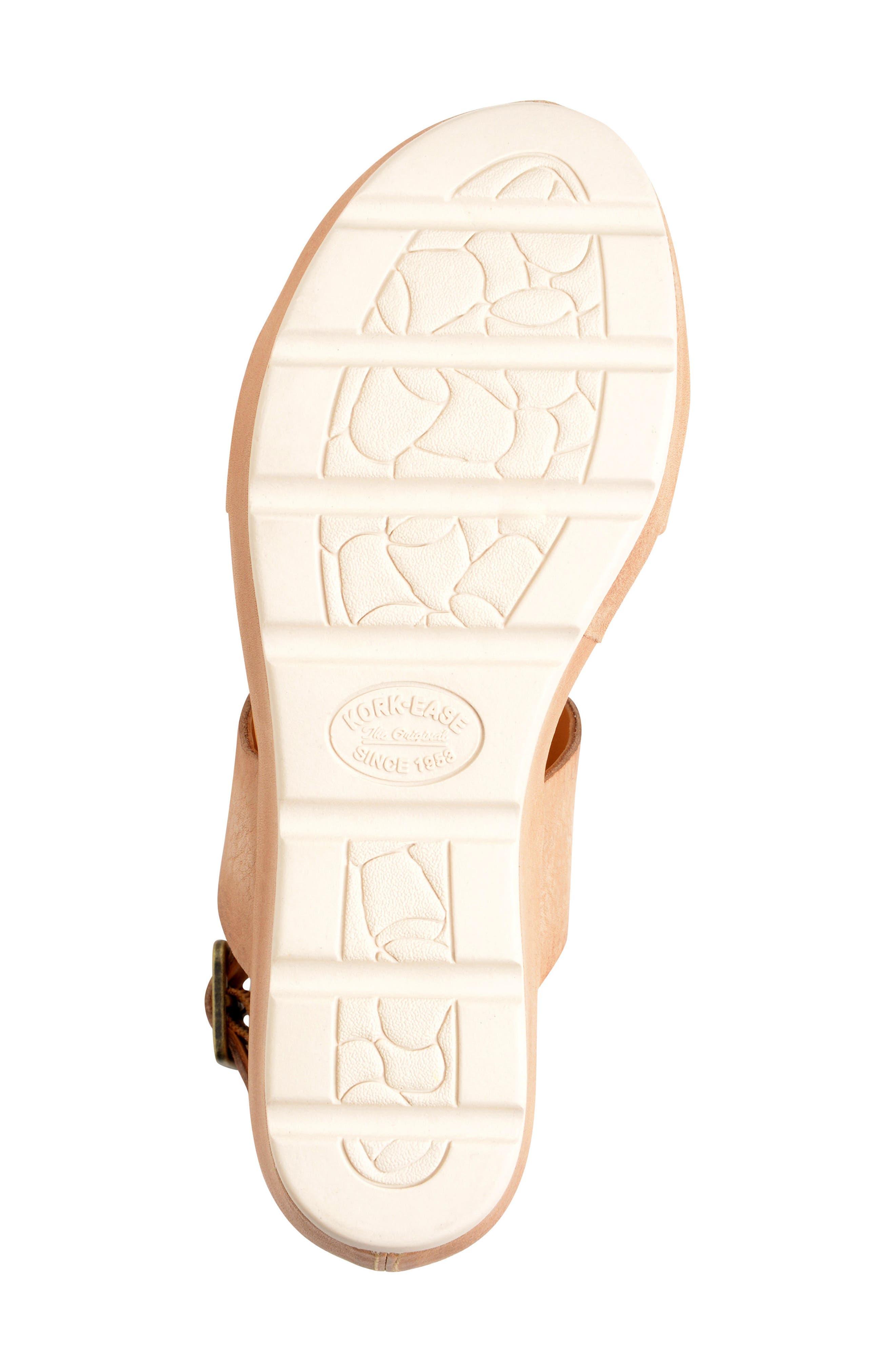 'Khloe' Platform Wedge Sandal,                             Alternate thumbnail 19, color,