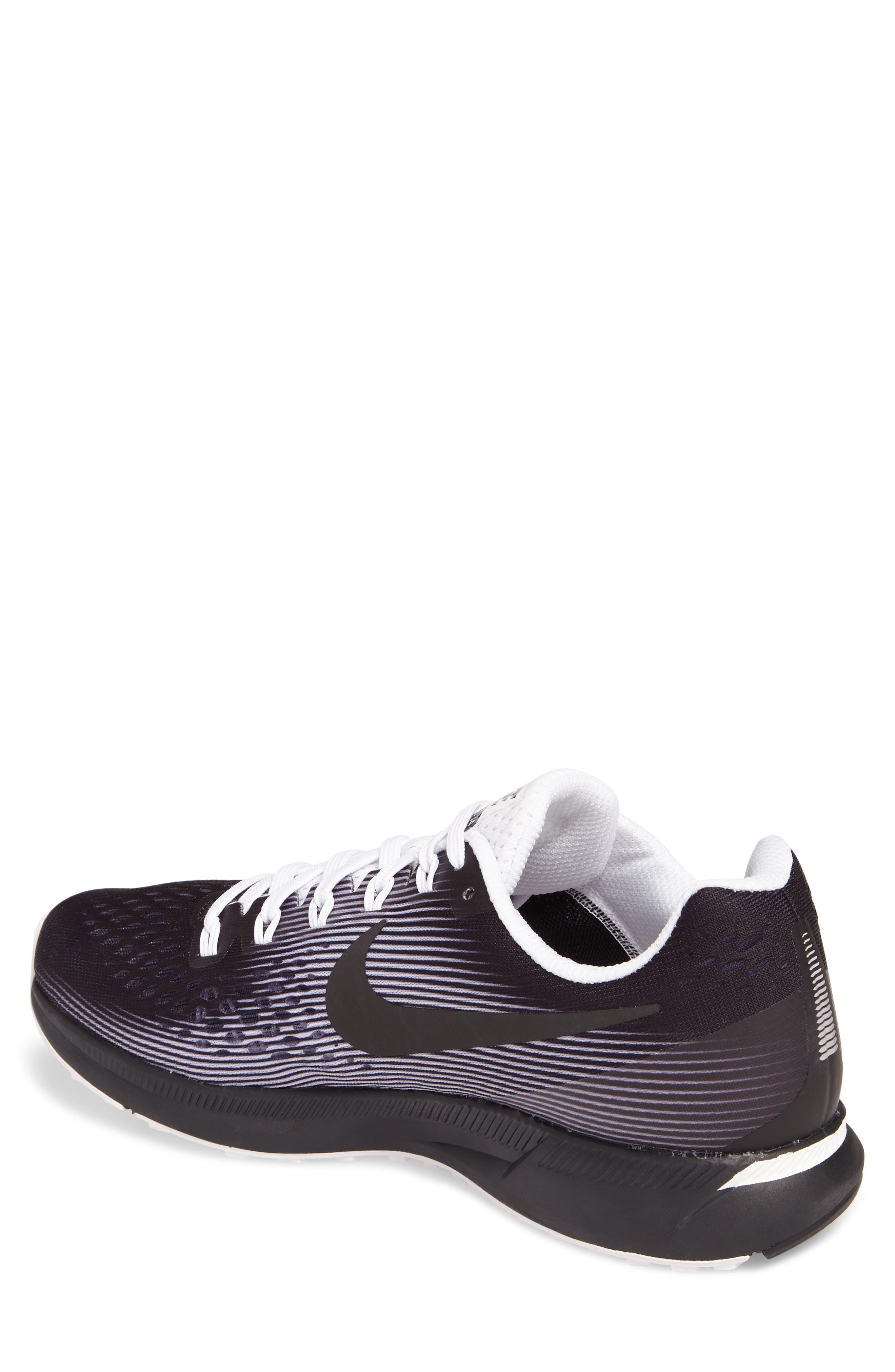 Air Zoom Pegasus 34 LE Running Shoe,                             Alternate thumbnail 2, color,                             001