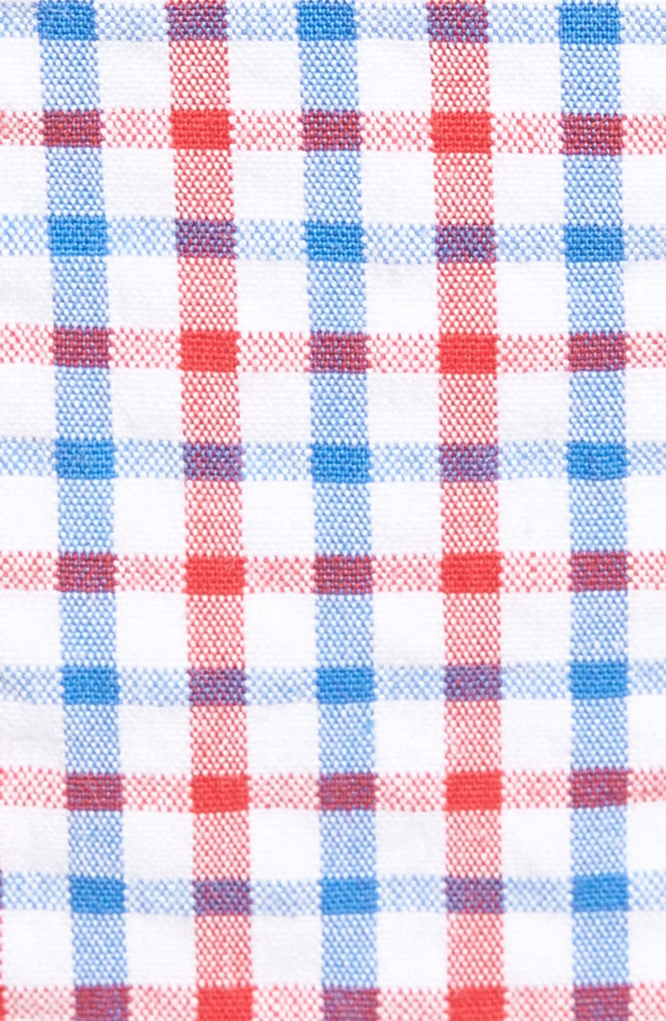 Gingham Seersucker Stretch Breaker Shorts,                             Alternate thumbnail 5, color,                             427