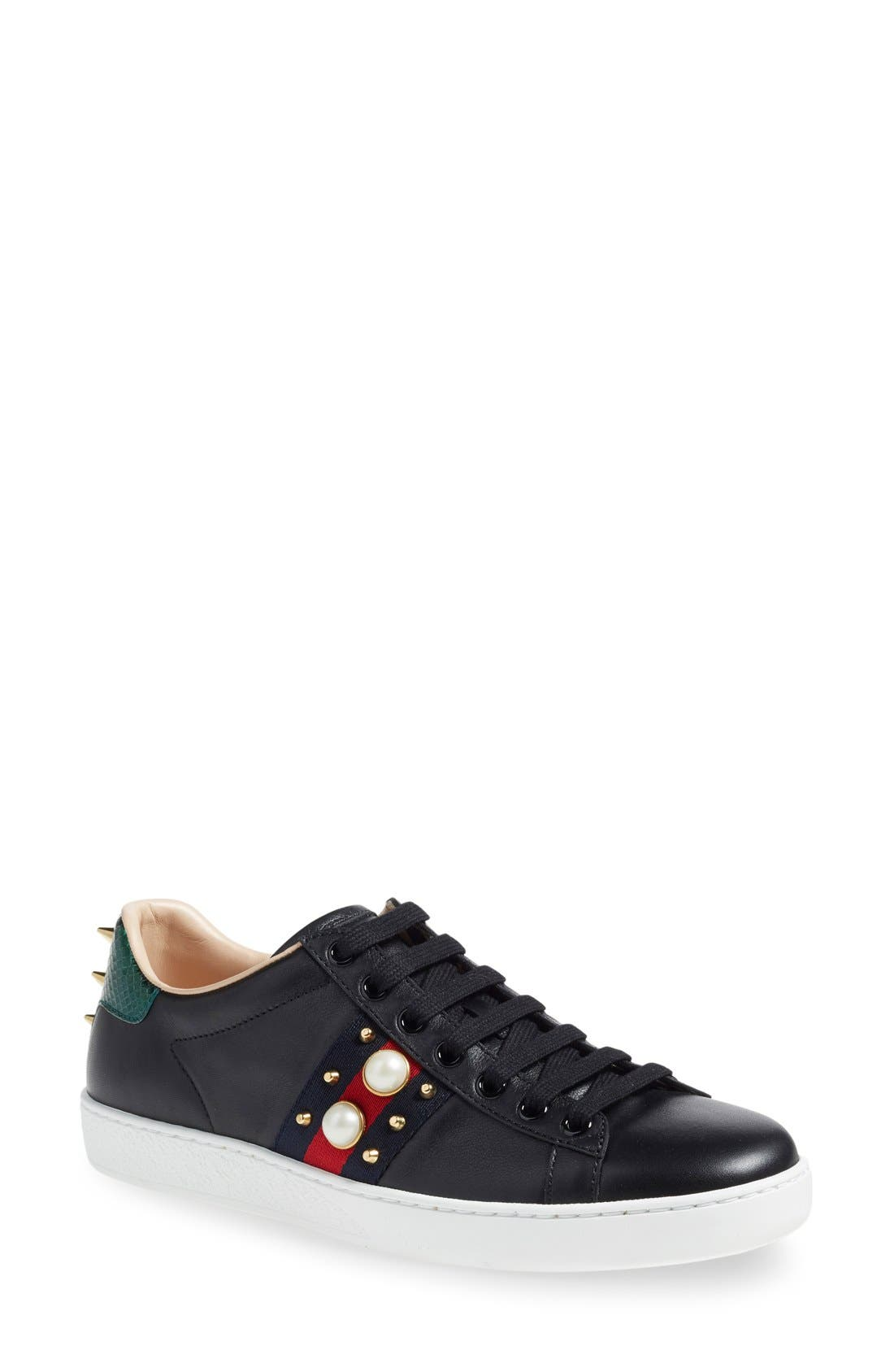 'New Ace' Low Top Sneaker,                             Main thumbnail 4, color,