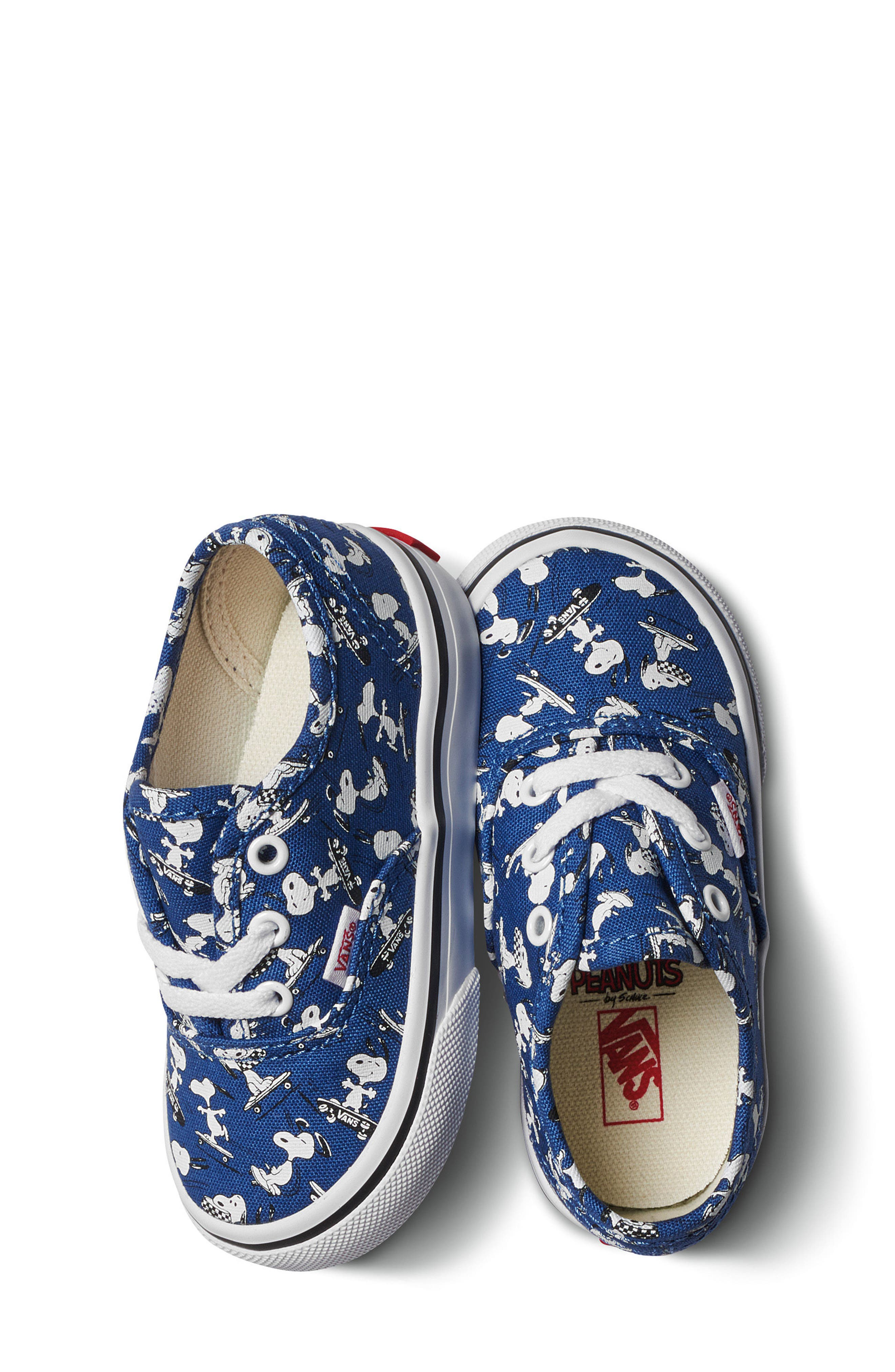 x Peanuts Authentic Sneaker,                             Alternate thumbnail 7, color,                             400