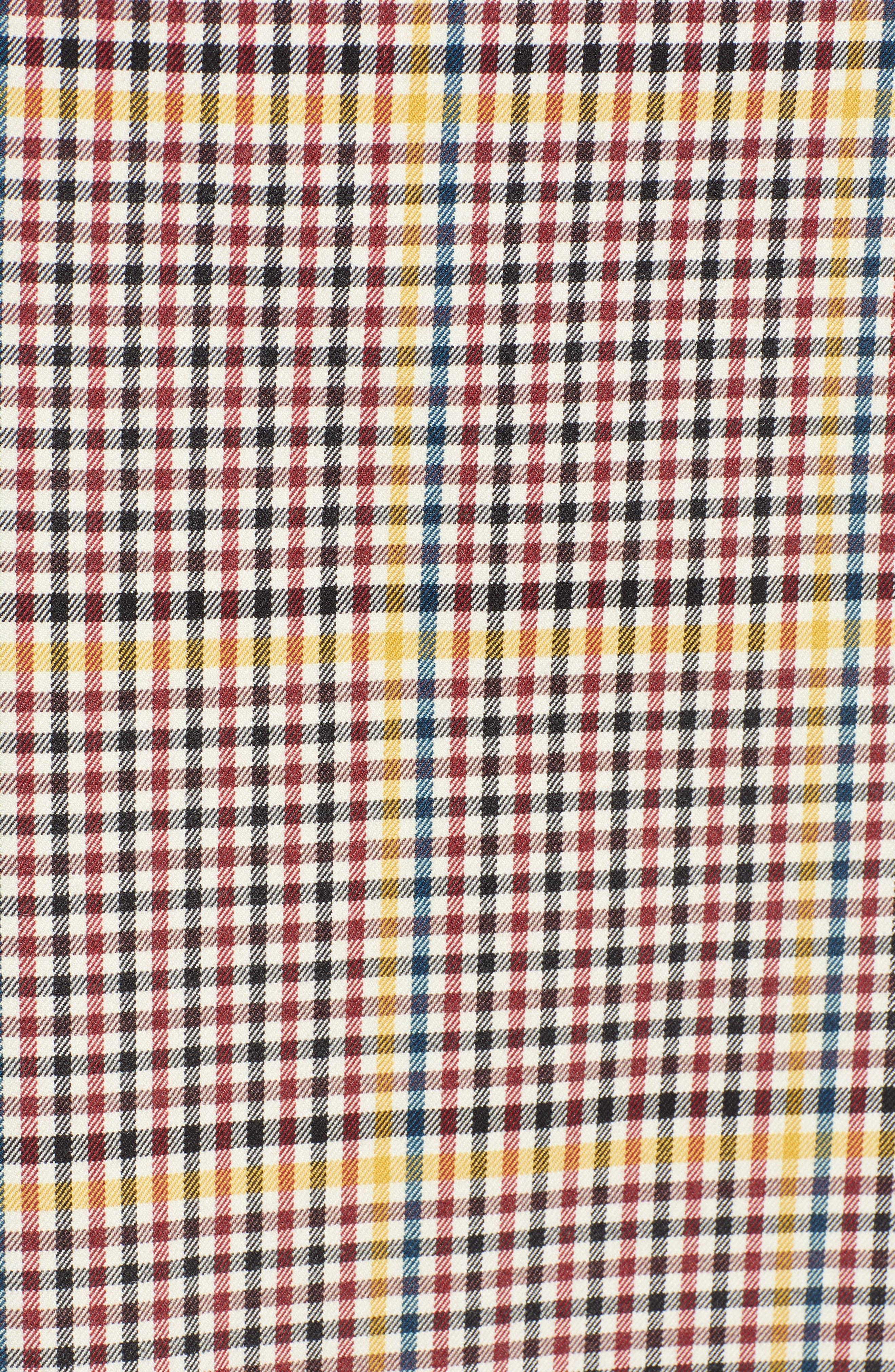 Plaid Pencil Skirt,                             Alternate thumbnail 5, color,                             601