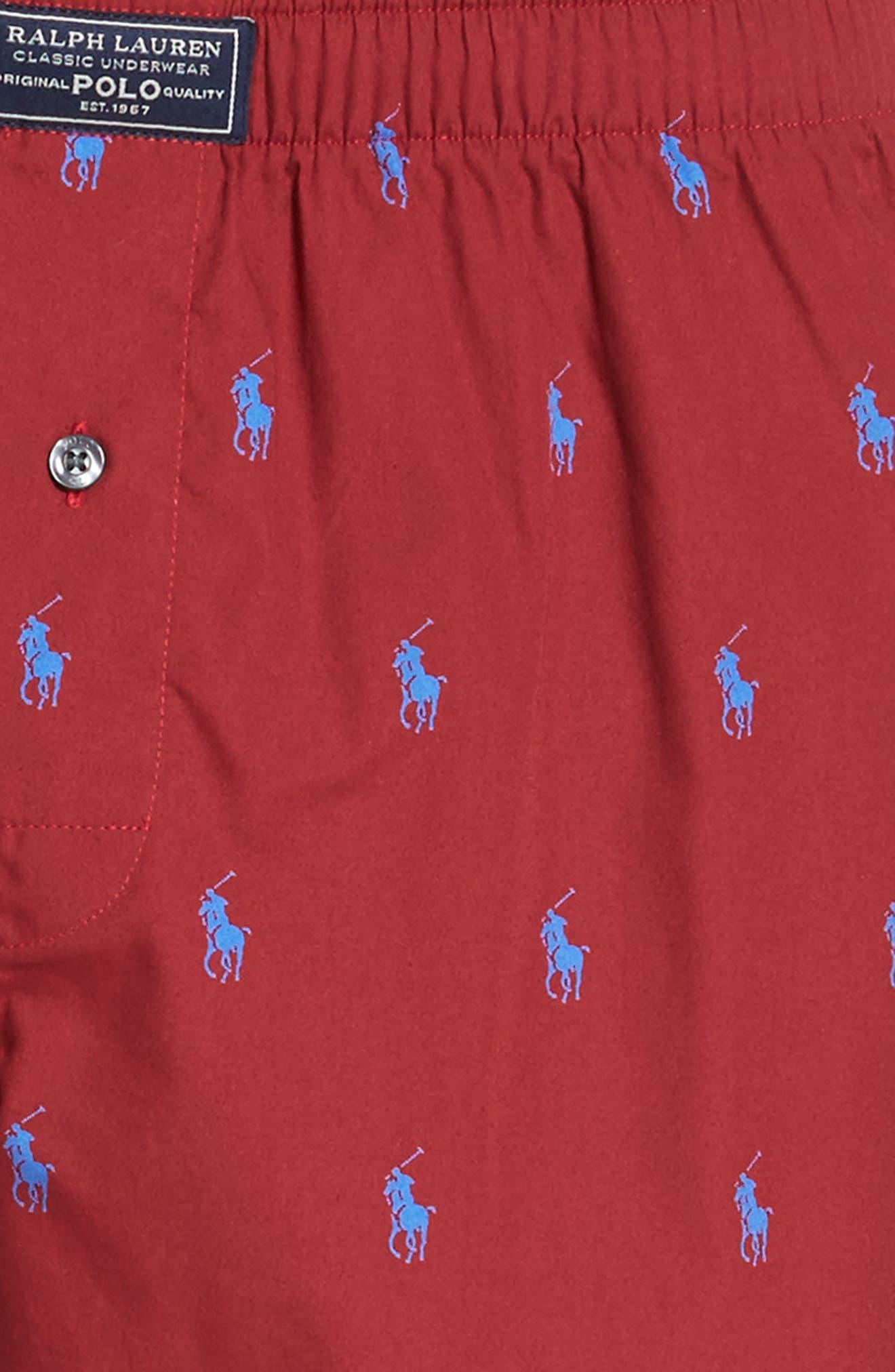 Pony Cotton Boxers,                             Alternate thumbnail 27, color,